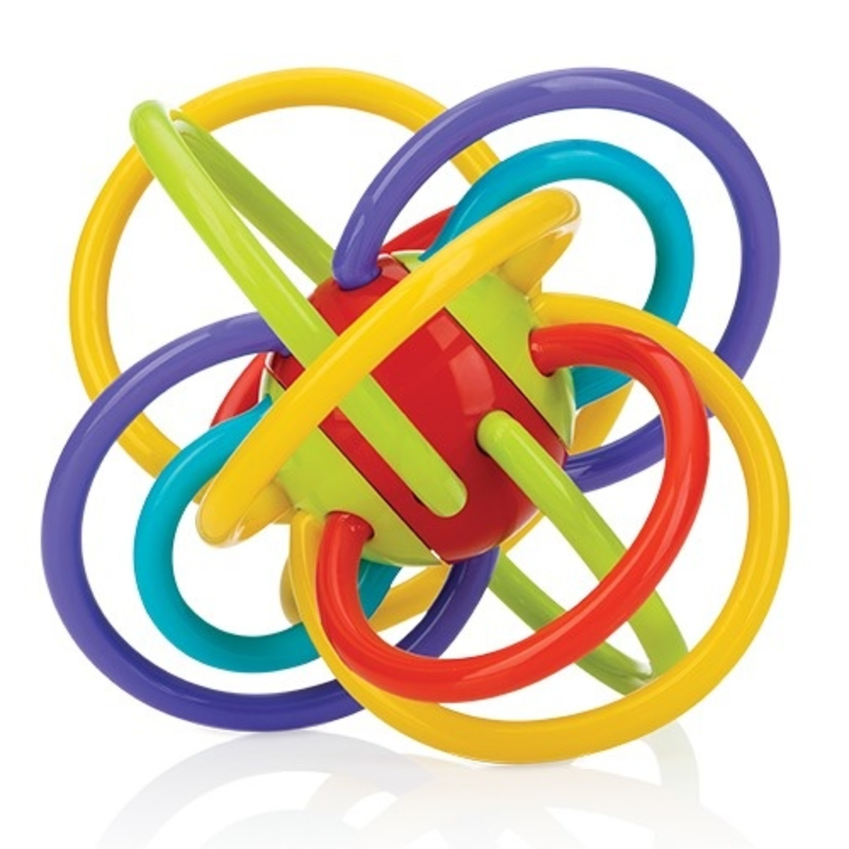 Nuby Nuby Bijtspeeltje Lots-a-Loops 6M+
