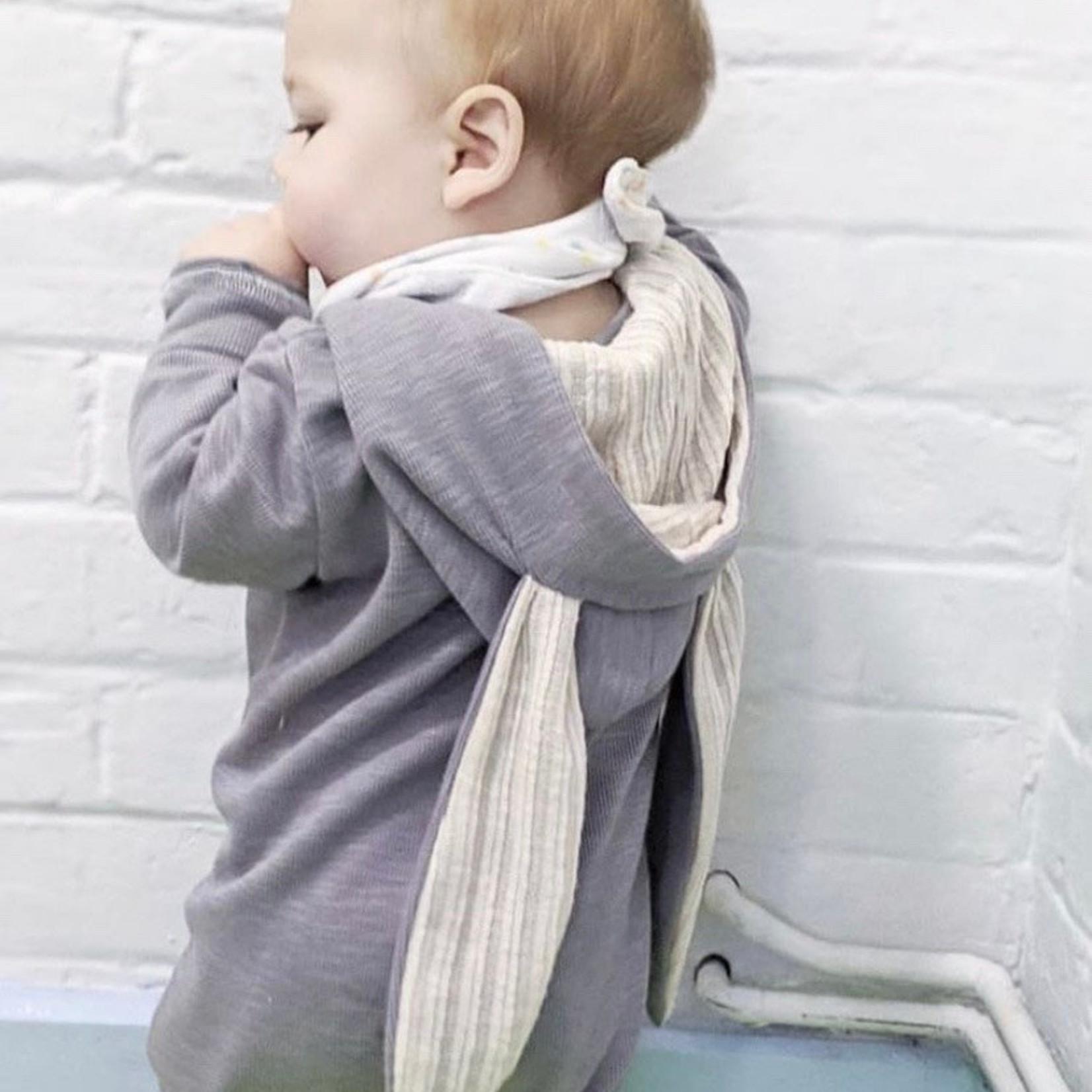 Mama Siesta Mama Siesta Bunny Sleepsuit Grey