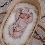 Mama Siesta Mama Siesta Bunny Sleepsuit Rose