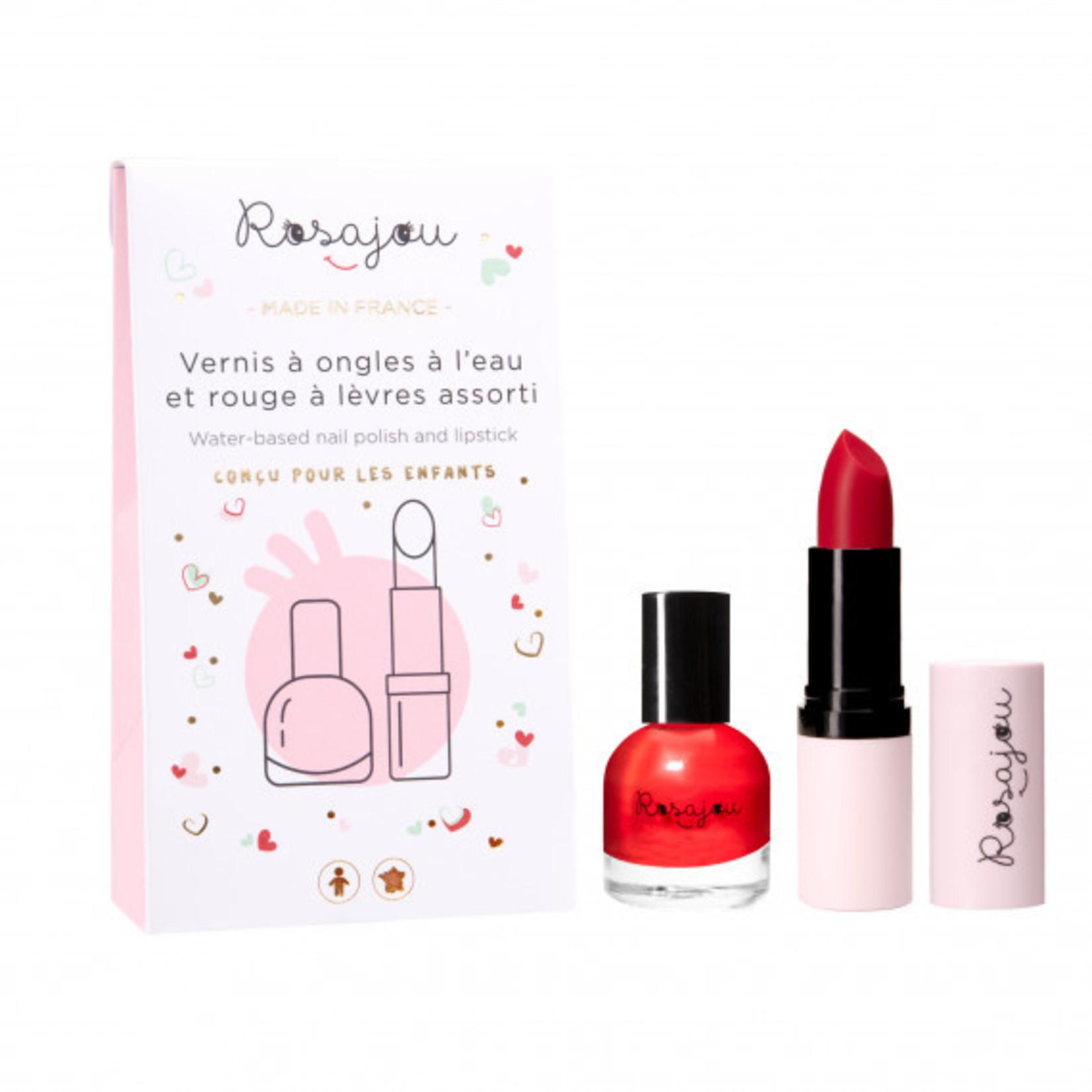 Rosajou Rosajou Nagellak en lipstick Madame speciaal voor kinderen