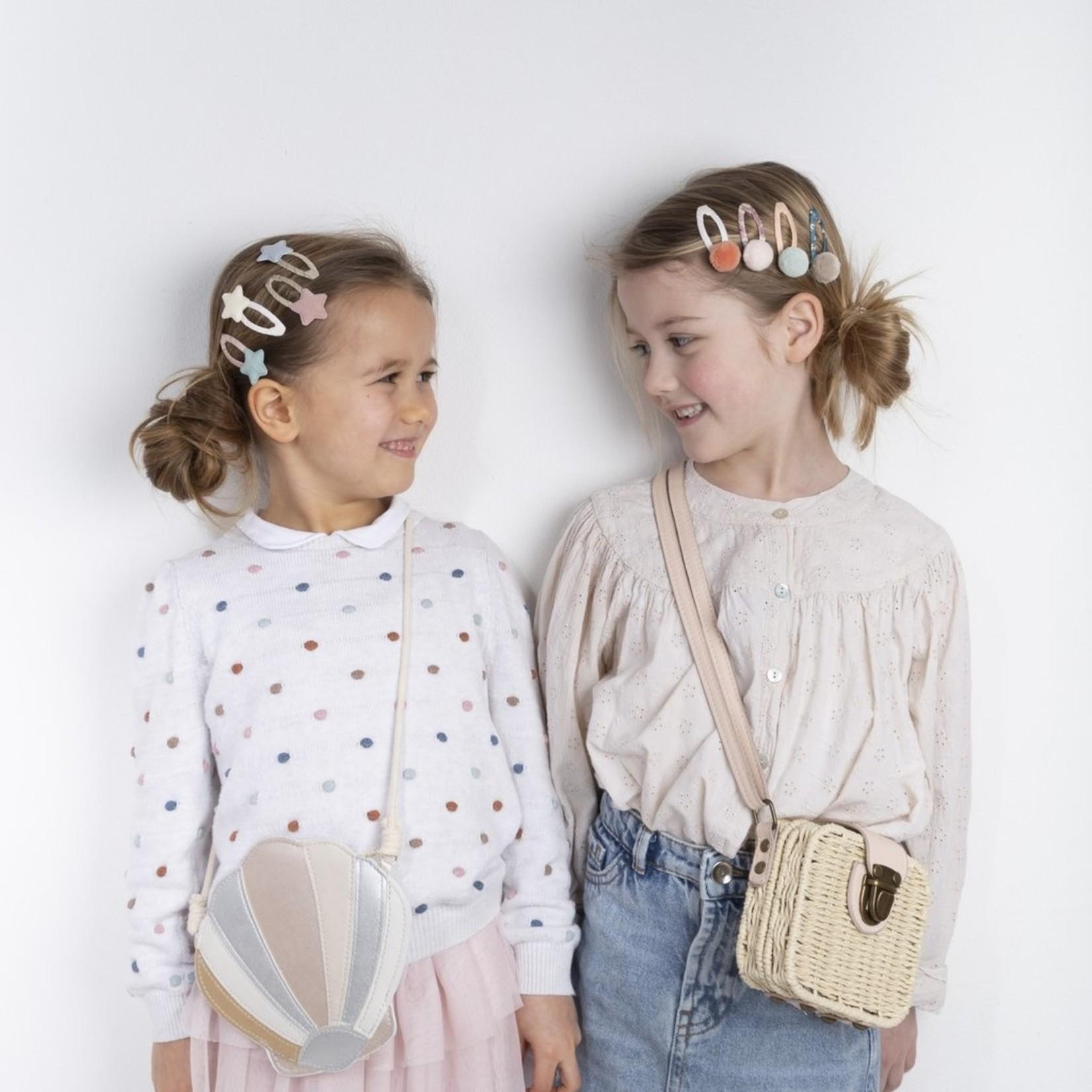 Mimi & Lula Mimi & Lula Schoudertasje Shimmer Shell