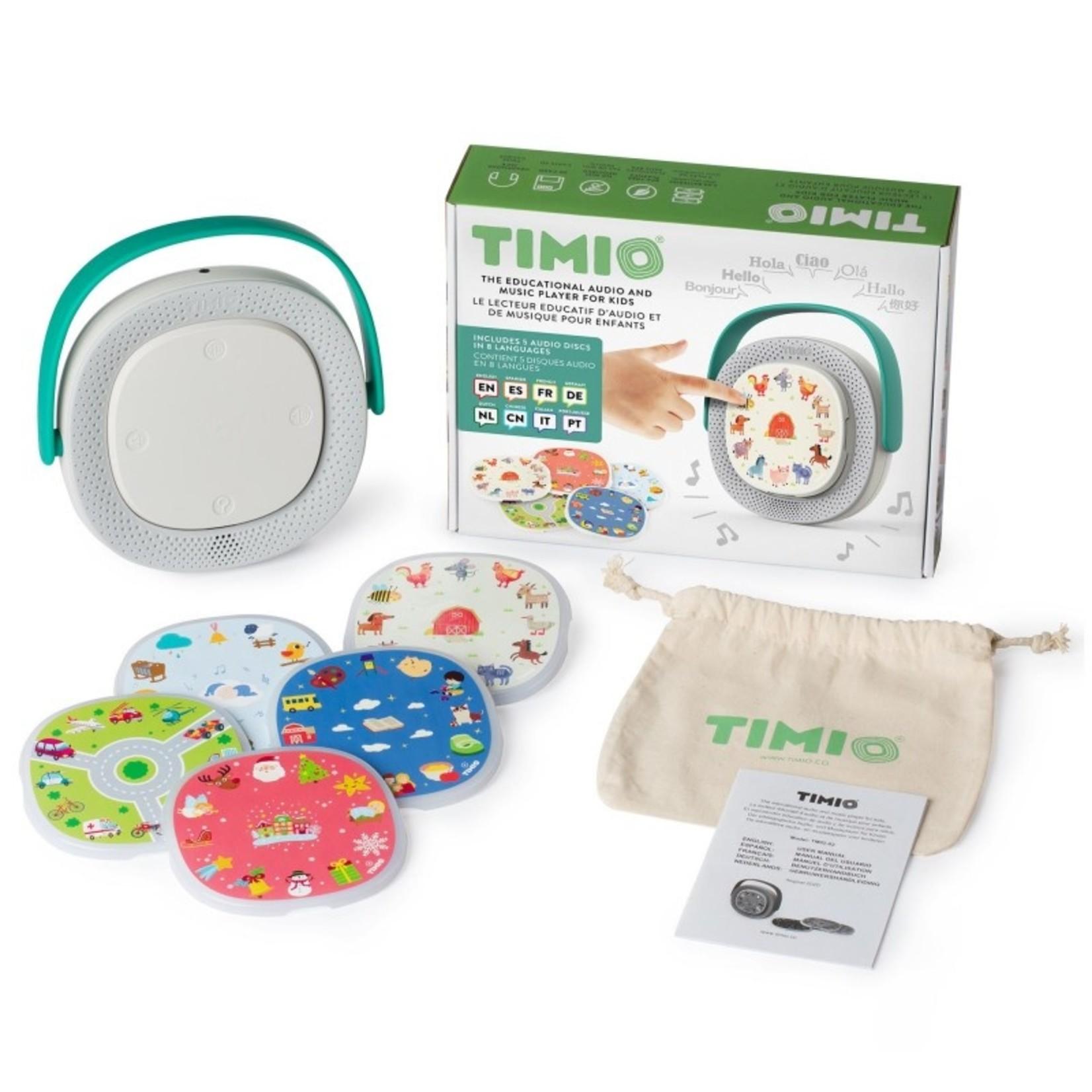 Timio Timio Player + 5 discs