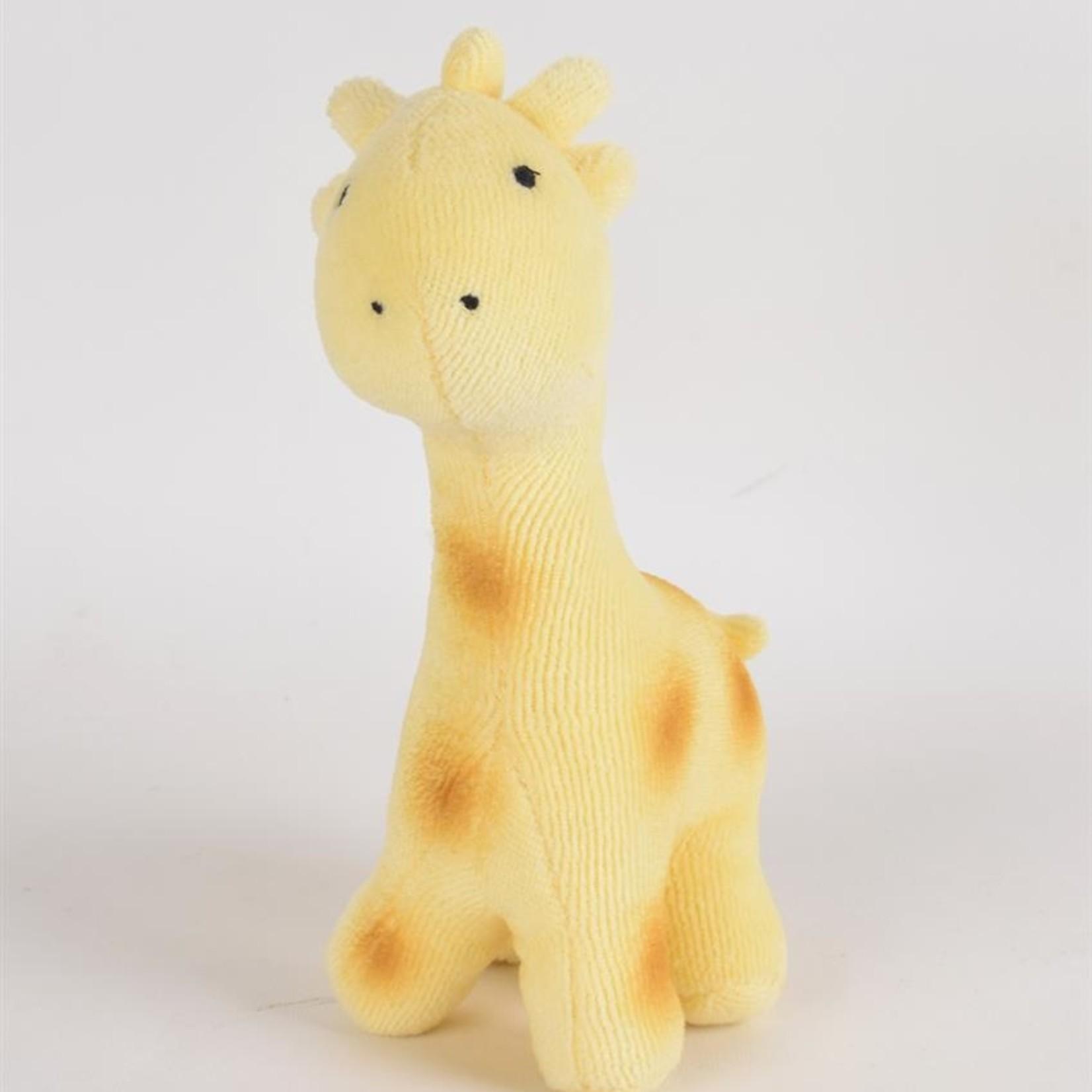 Tikiri Tikiri Mijn eerste Zoodiertje Biologisch katoen Giraf