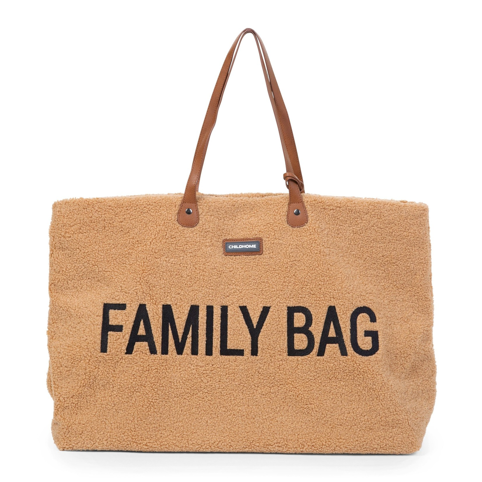 Childhome Childhome Family Bag Teddy Beige