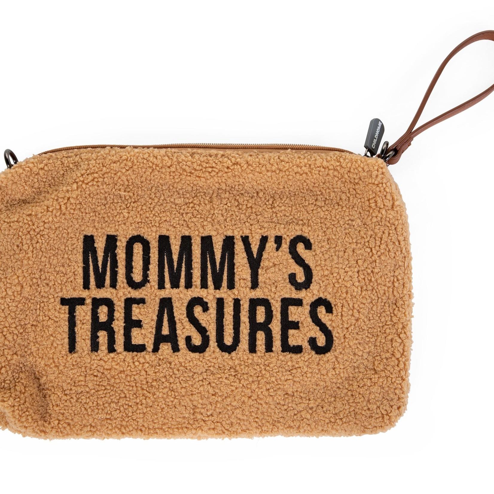 Childhome Childhome Mommy Clutch Teddy Beige