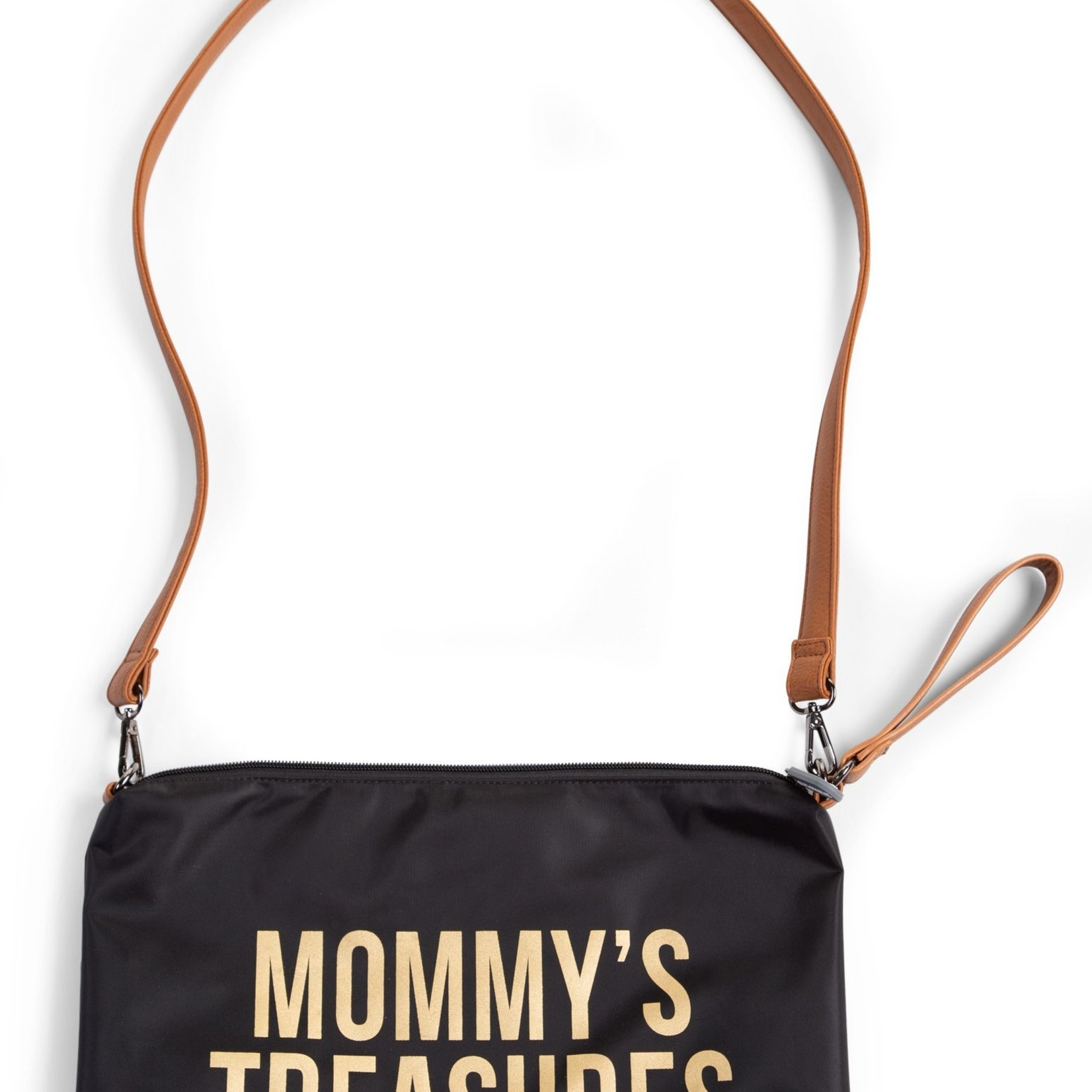 Childhome Childhome Mommy Clutch Zwart/Goud