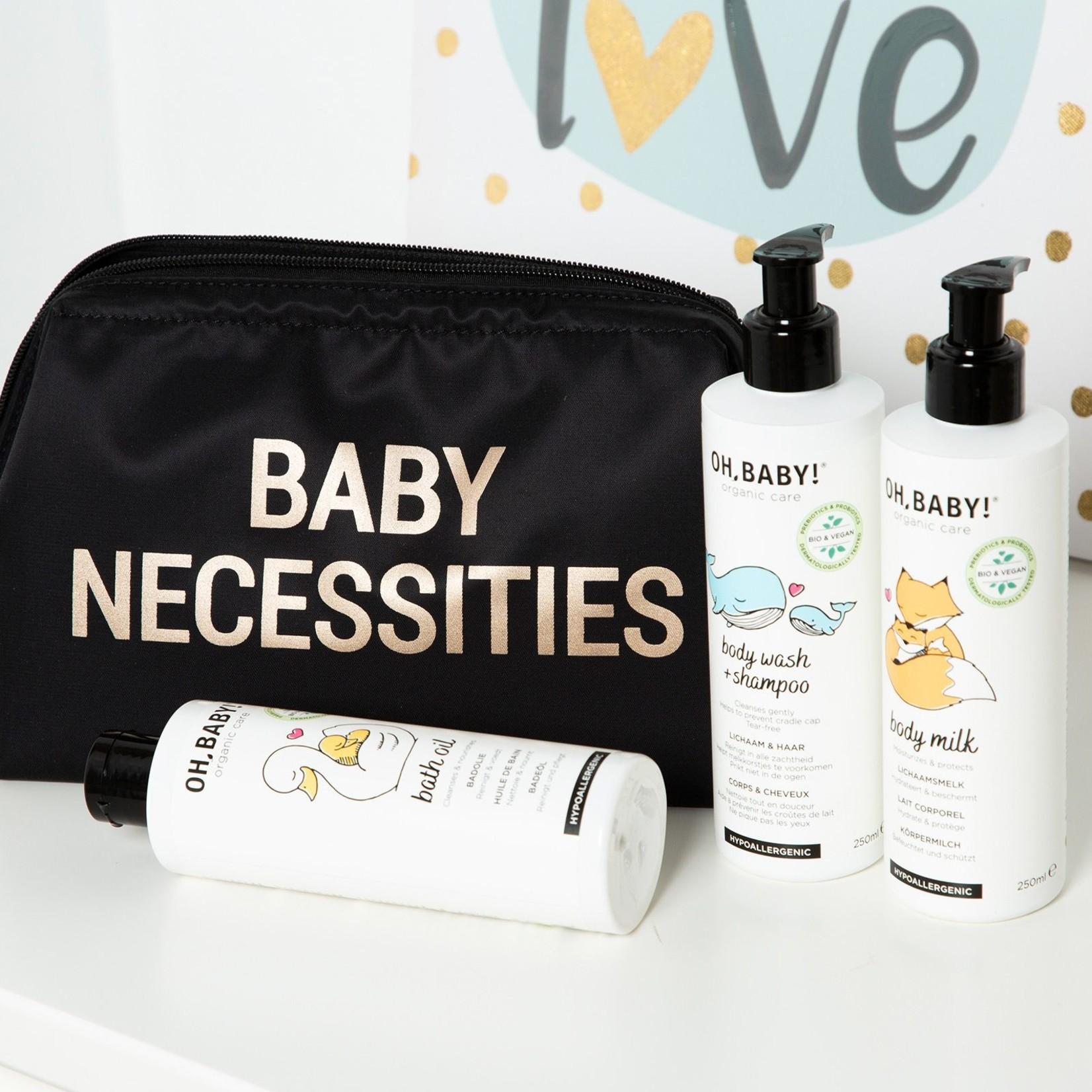 Childhome Childhome Baby Necessities Zwart/Goud
