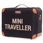 Childhome Childhome Valiesje Mini Traveller Zwart/Goud