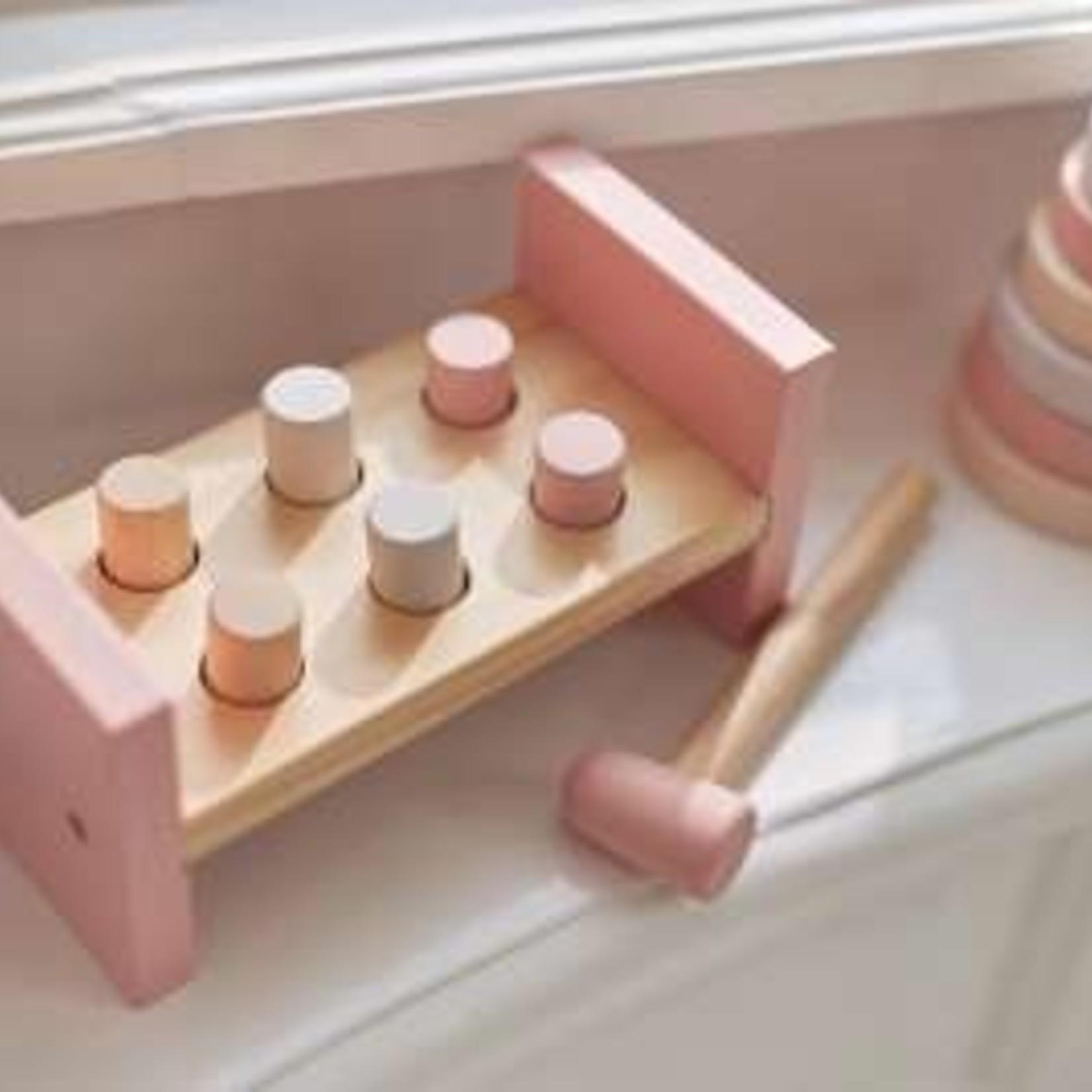 Jollein Jollein Houten Hamerbank Pink