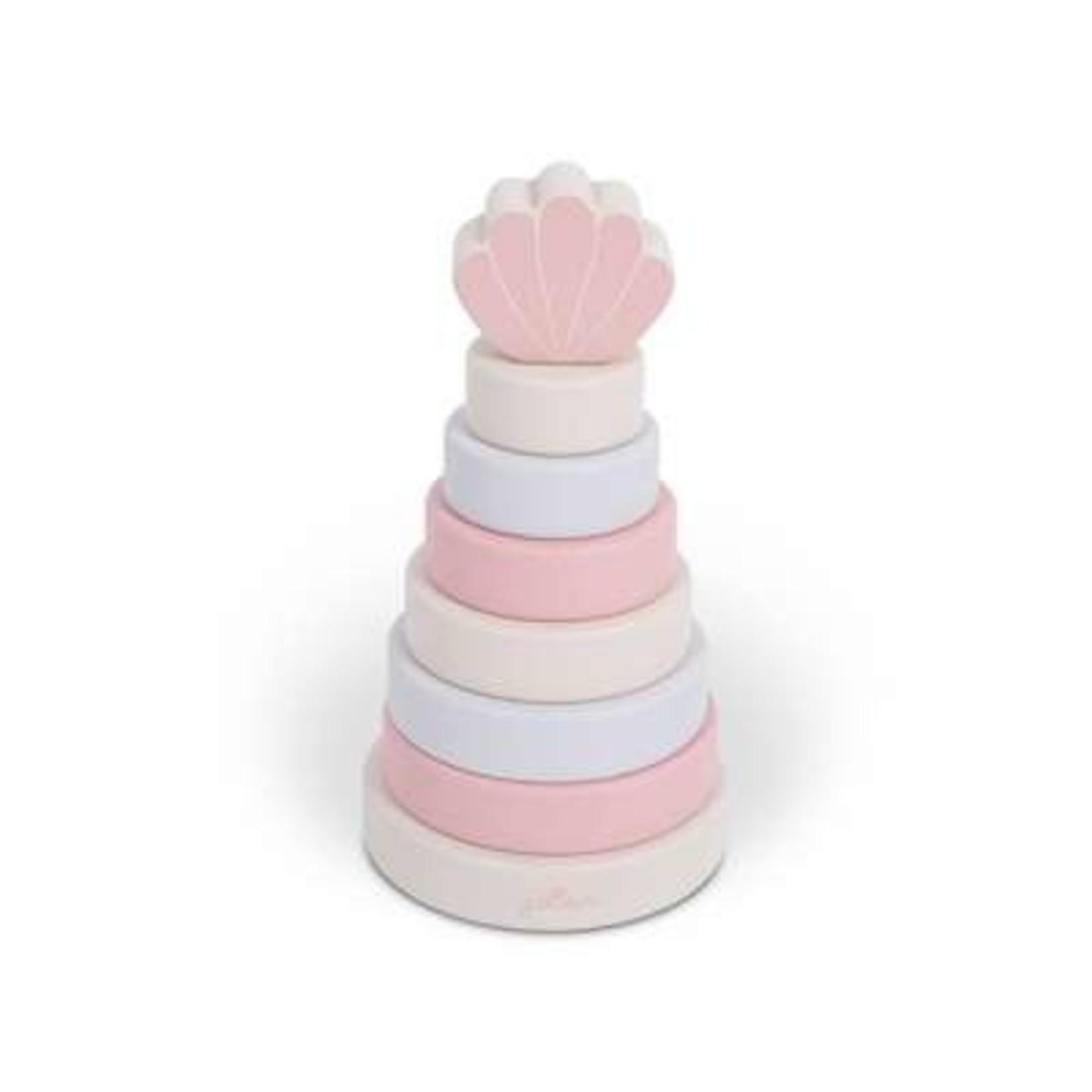 Jollein Jollein Houten Stapeltoren Pink