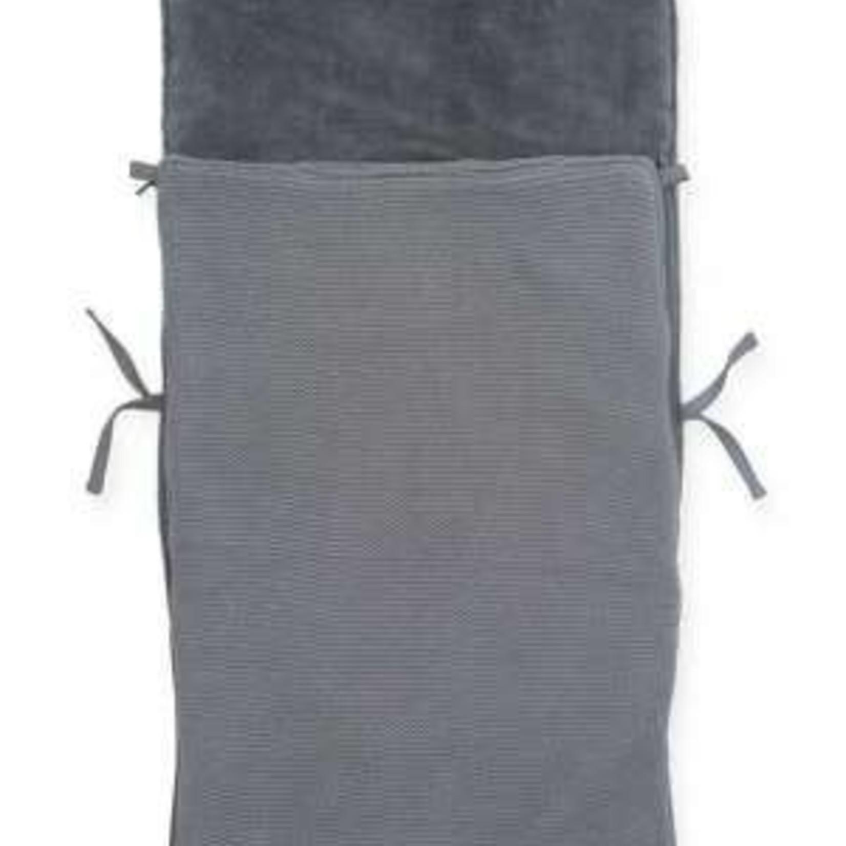 Jollein Jollein Voetenzak Maxi-cosi Basic knit Stone grey