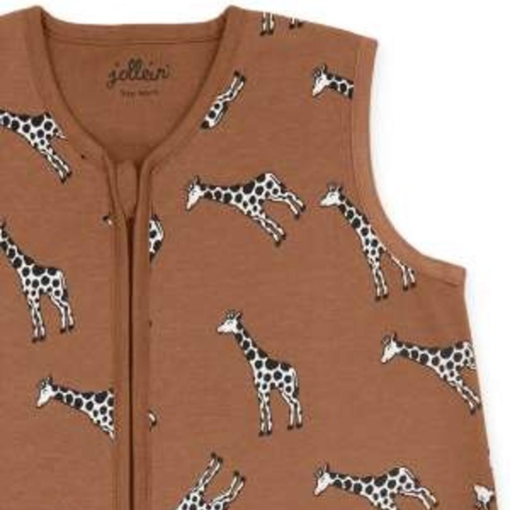 Jollein Jollein Slaapzak Zomer Giraf Caramel