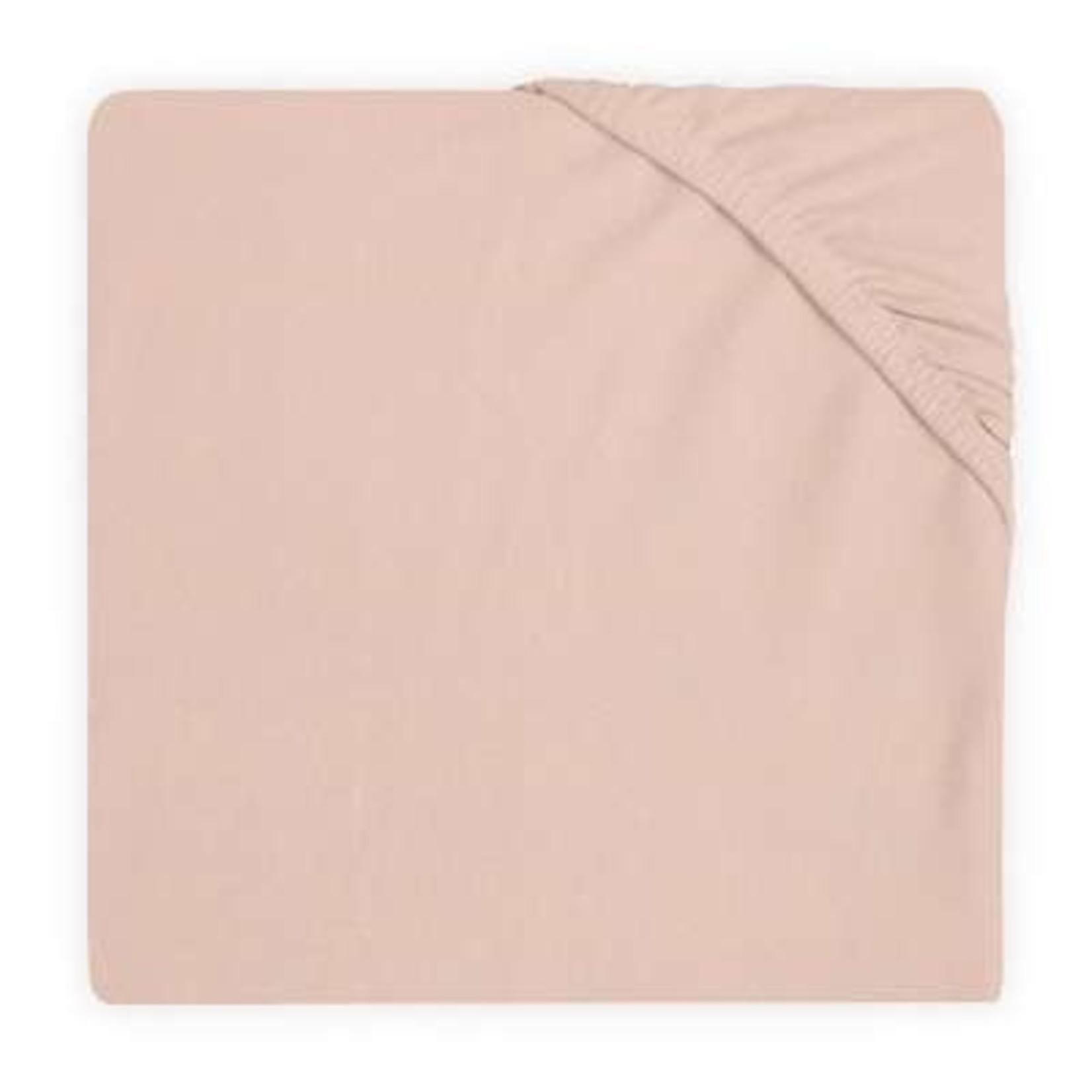 Jollein Jollein Hoeslaken Jersey 60X120cm Pale pink