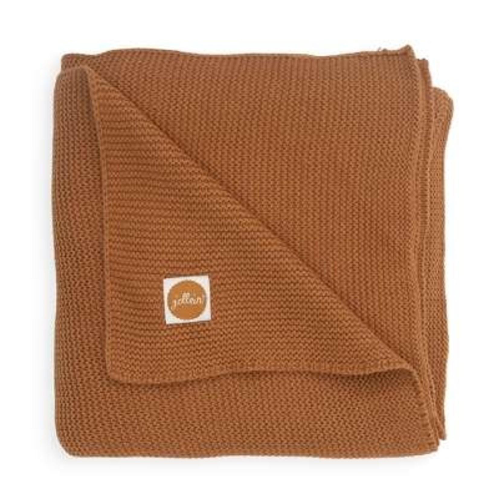 Jollein Jollein Deken 75x100cm Basic knit Caramel
