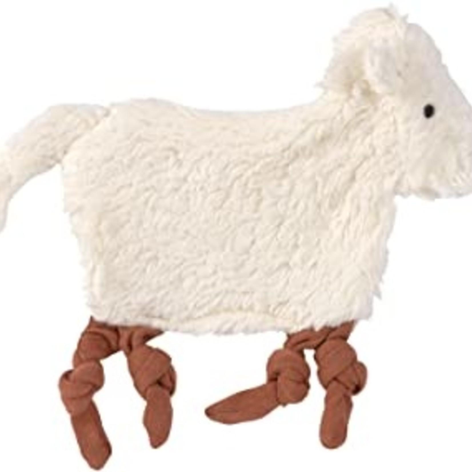 Lässig Lässig Knuffeldoekje/Tutdoekje Tiny Farmer Sheep