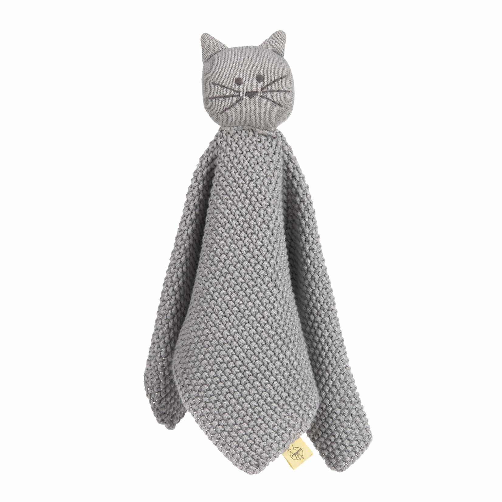 Lässig Lässig Knuffeldoekje Little chums Cat