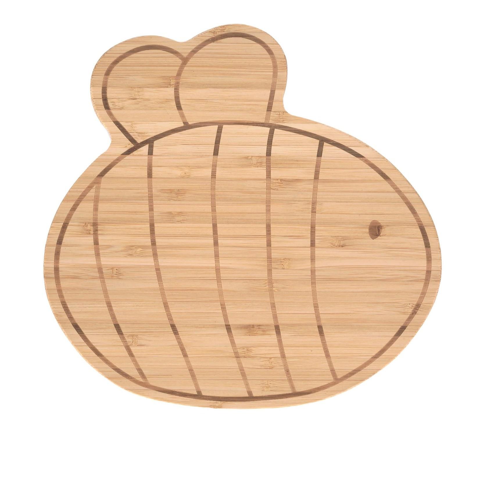 Lässig Lässig Ontbijtplankje Bamboo/Hout Garden Explorer Bee