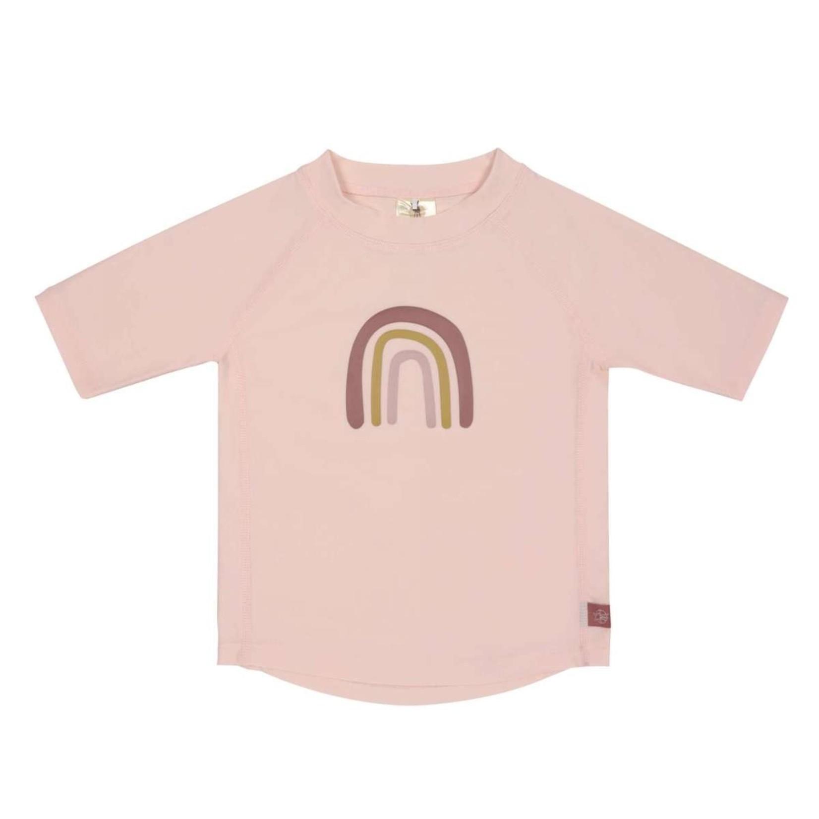 Lässig Lässig Zwem T-shirt Rainbow Roze