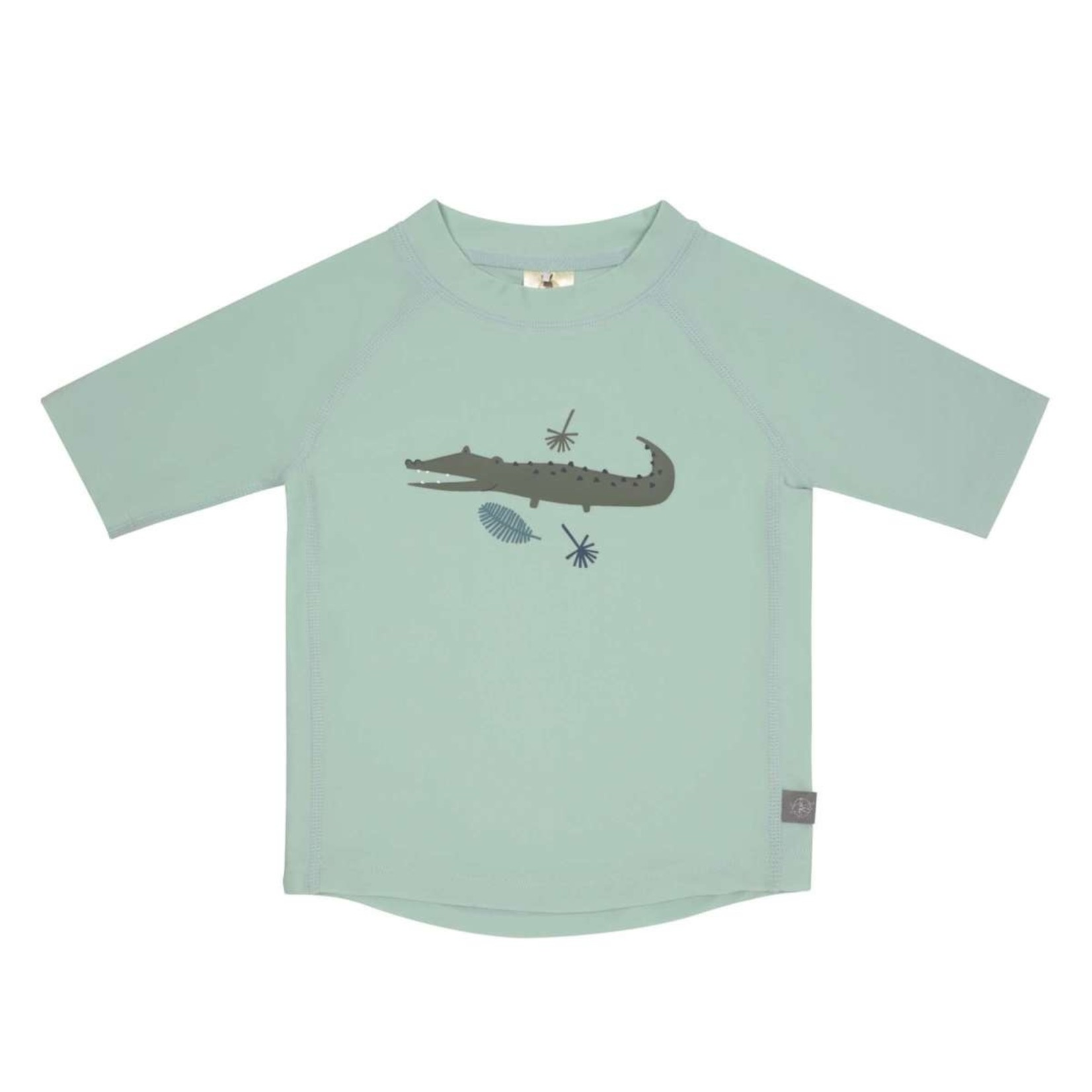 Lässig Lässig Zwem T-shirt Crocodile Mint