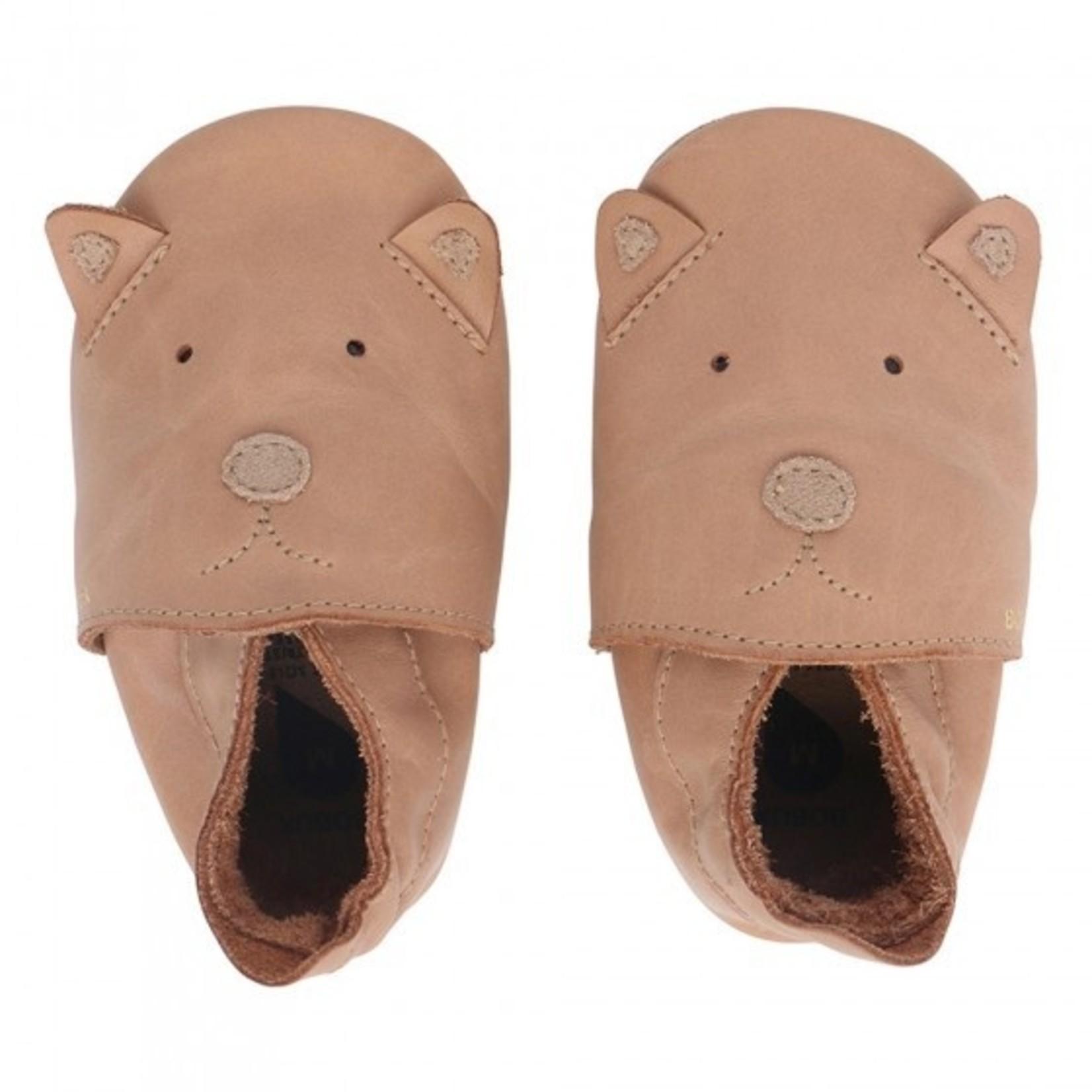 Bobux Bobux Soft soles Caramel Woof