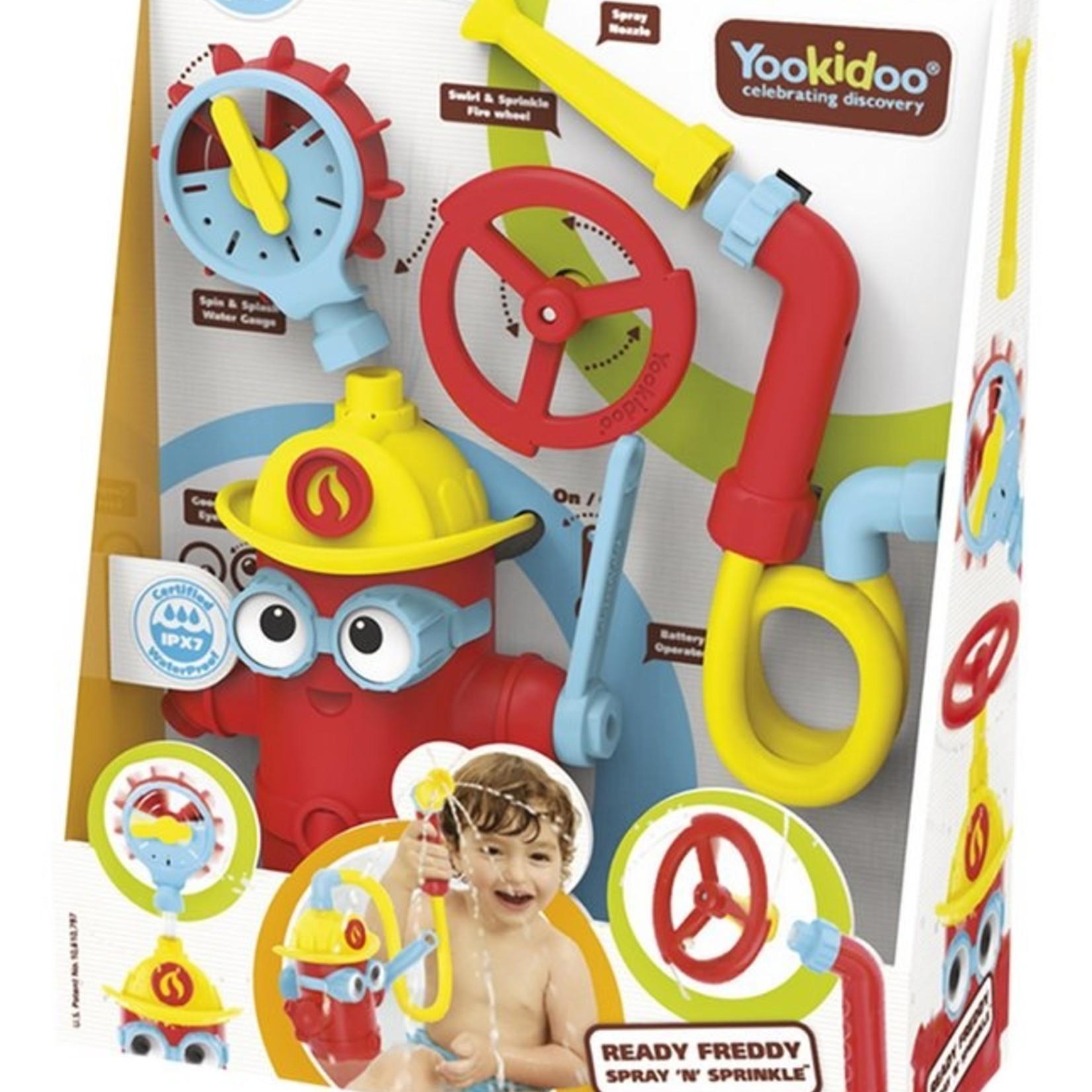 Yookidoo Yookidoo Badspeelgoed Ready Freddy Spray 'n Sprinkle