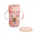 Suavinex Suavinex Training cup 360° Forest Pink
