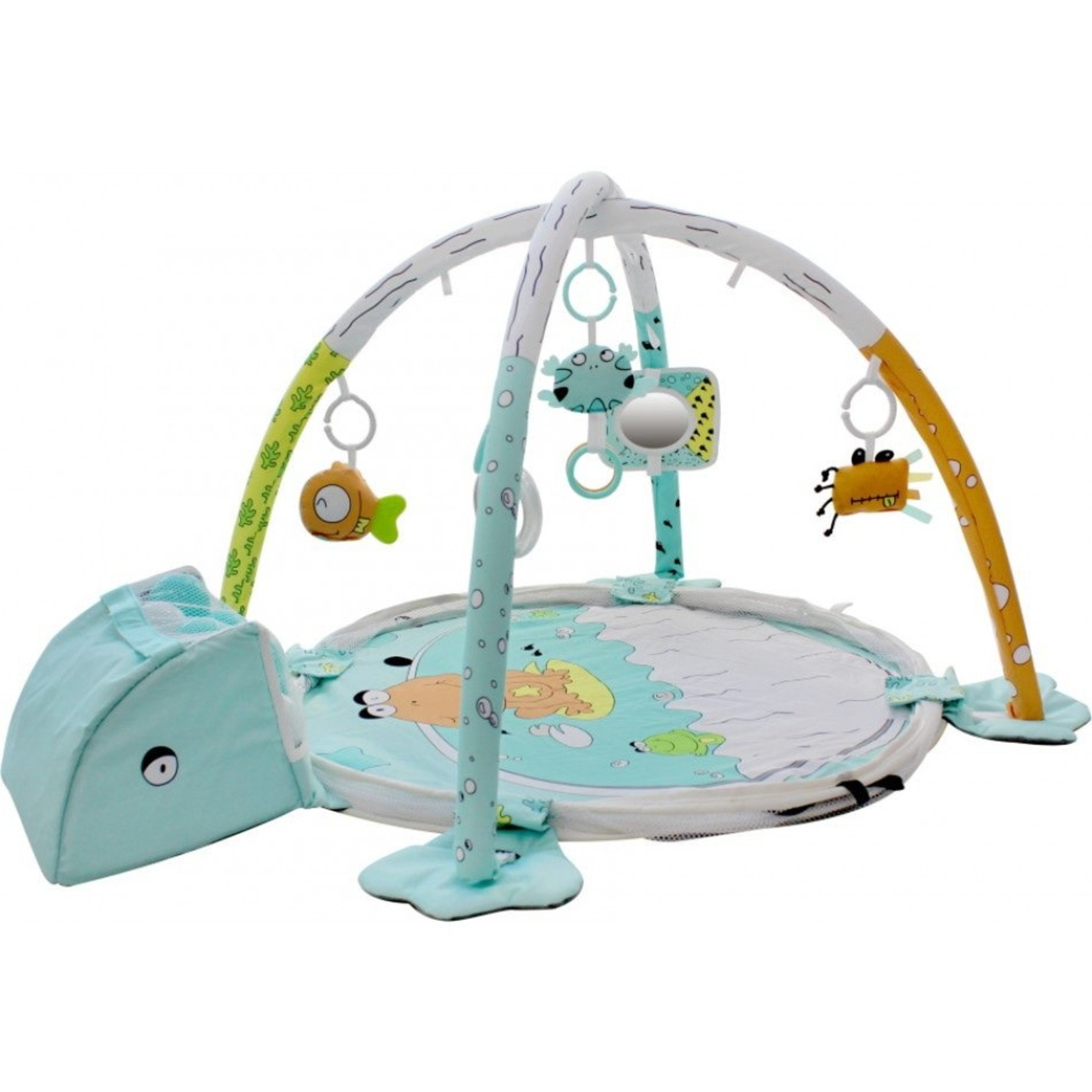 Tryco Tryco Speelkleed/Ballenbad 3 in 1 Ball Pit Activity Gym Frog