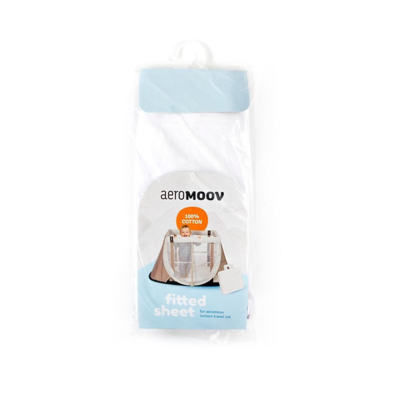 Aeromoov Aeromoov Hoeslaken Cotton White