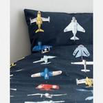 Studio Ditte Studio Ditte 1-Persoons Dekbedovertrek Vliegtuigjes