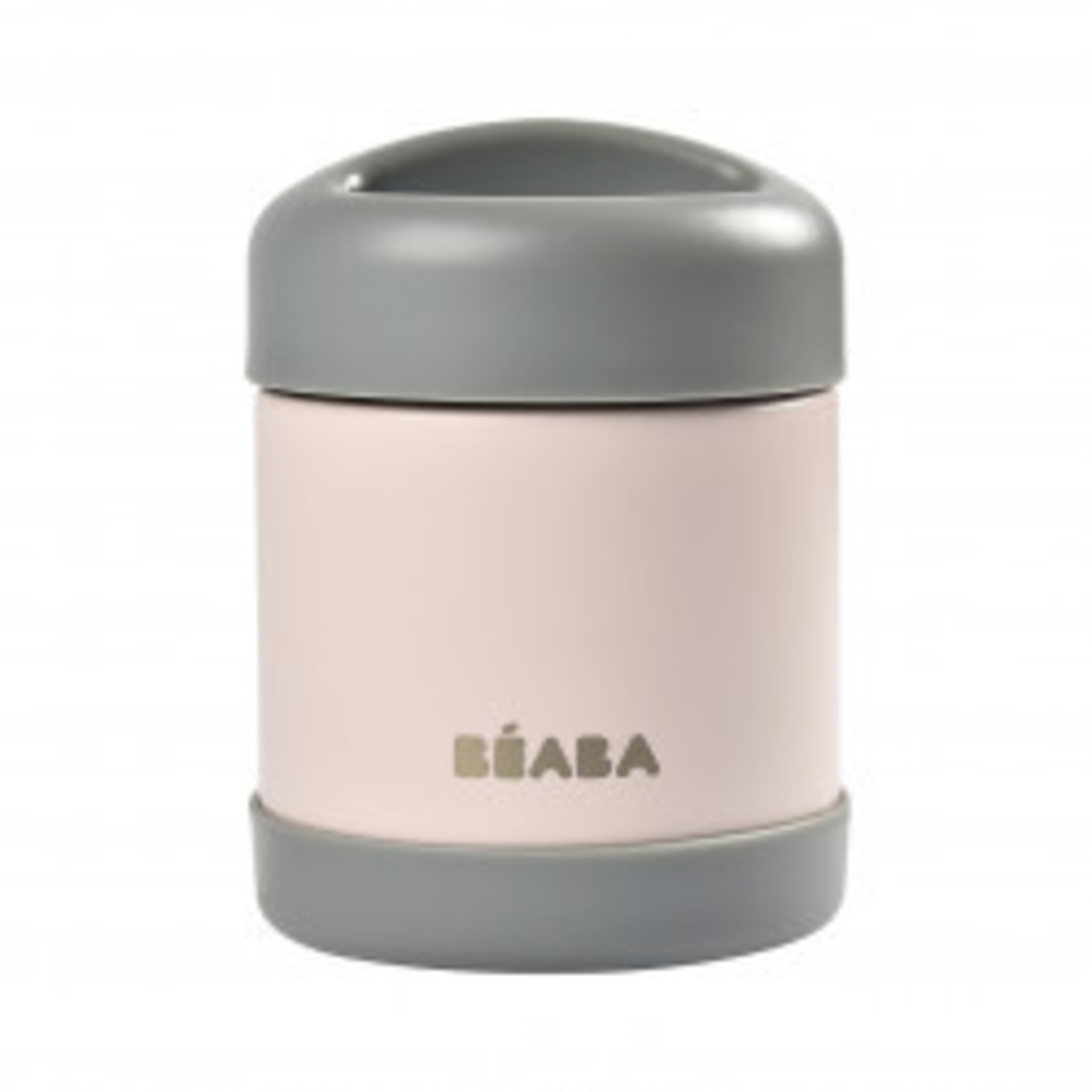 Beaba Beaba Foodjar 300ml Dark mist/ Light pink