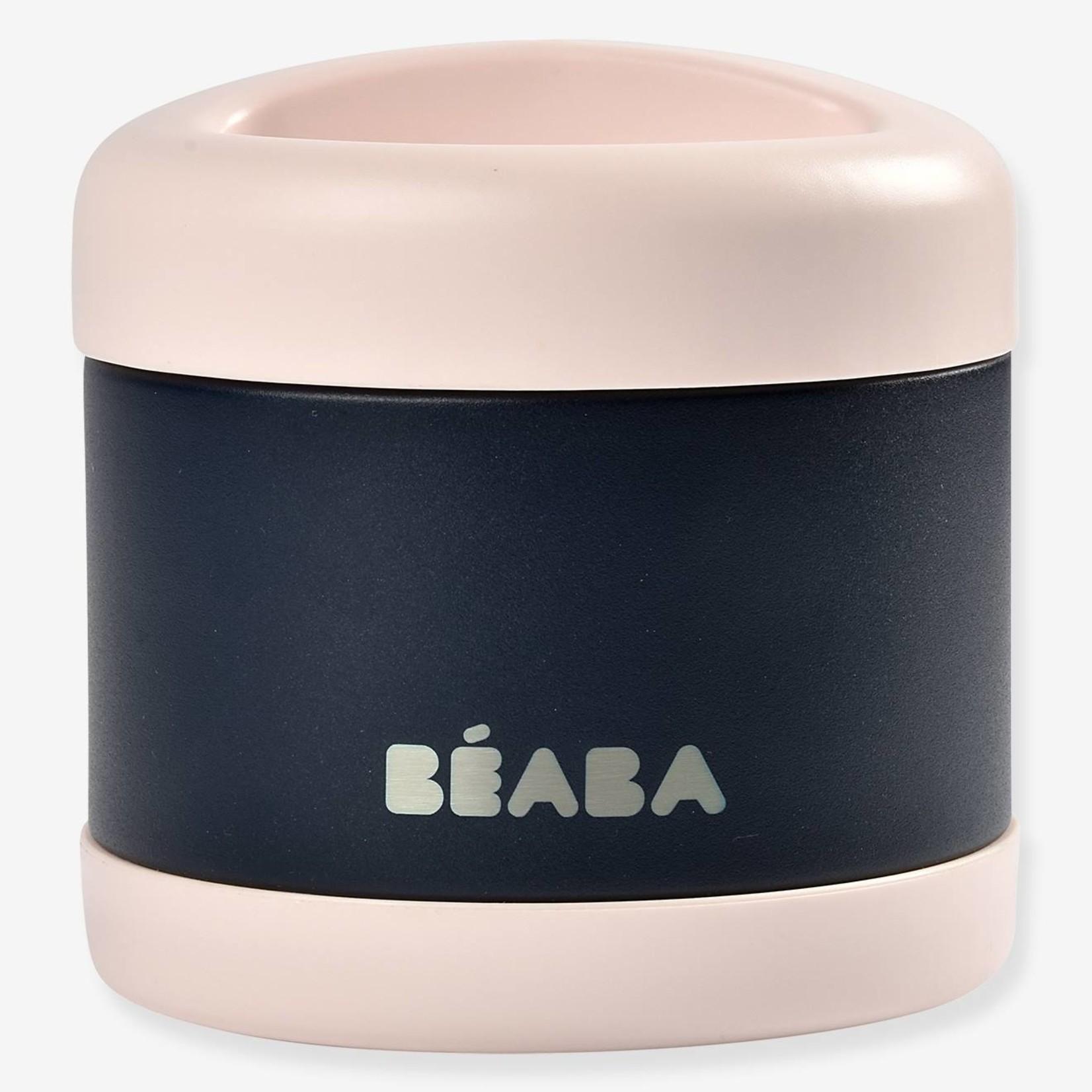 Beaba Beaba Foodjar 500ml Light pink/ Night blue