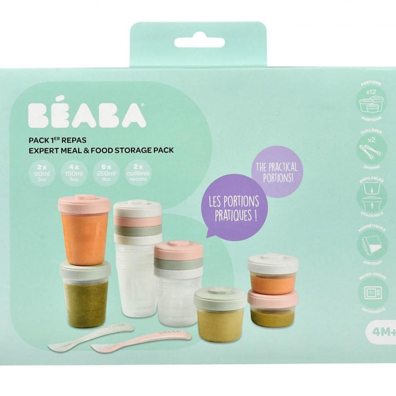Beaba Beaba 14-delige set Eerste maaltijd Eucalyptus