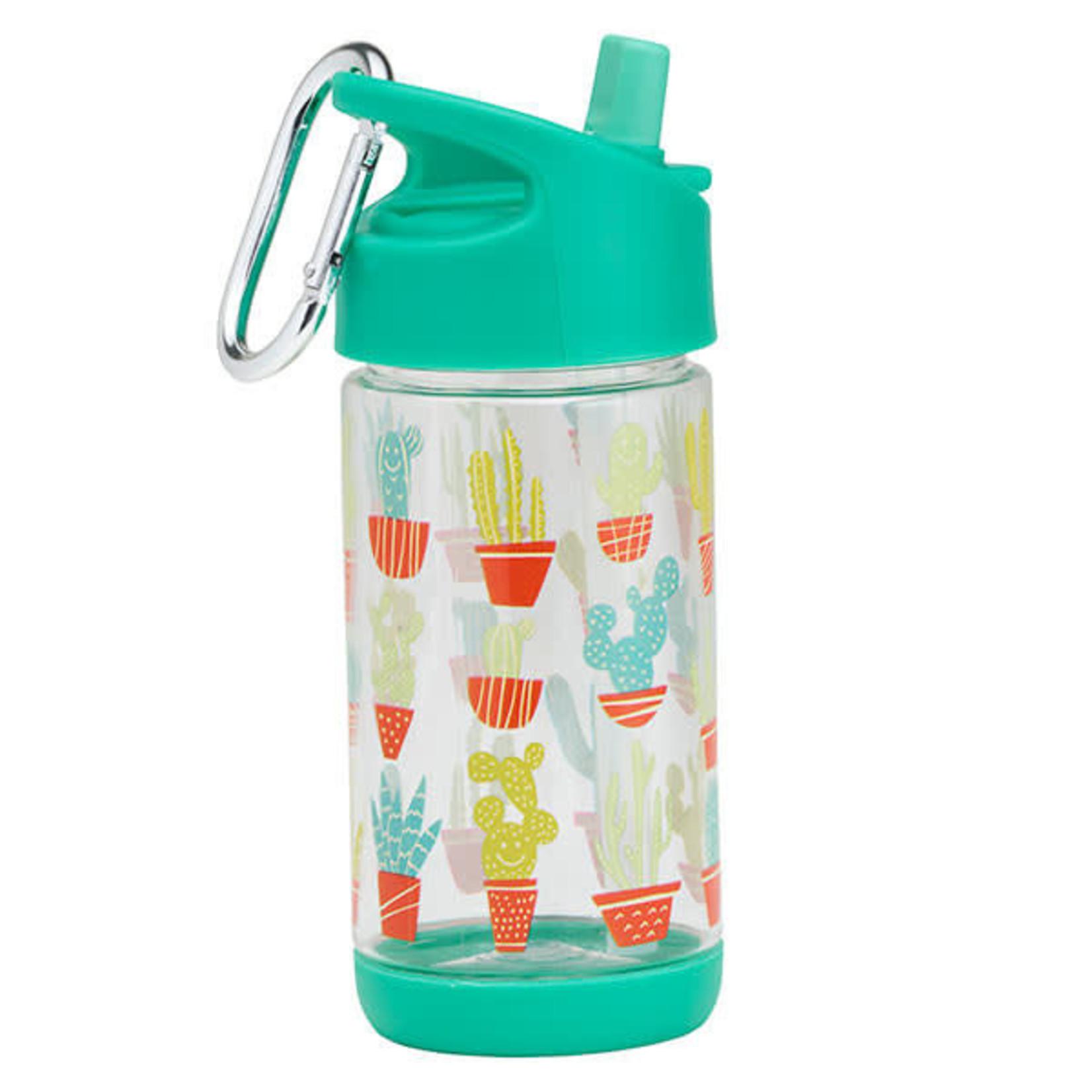 Sugarbooger Sugarbooger Drinkfles Happy Cactus Flip & Sip Clear