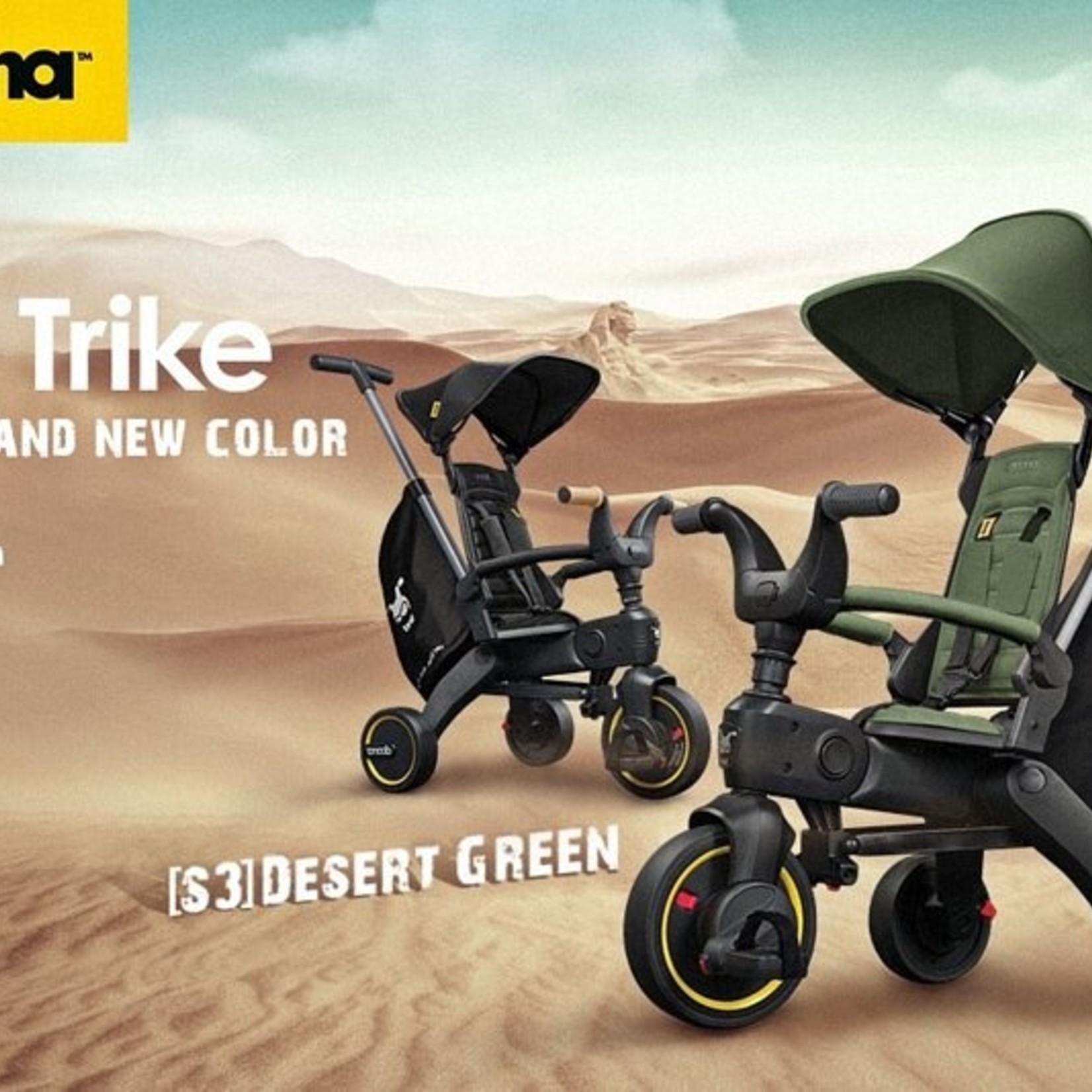 Doona Doona Liki Trike S3 Driewieler Desert Green