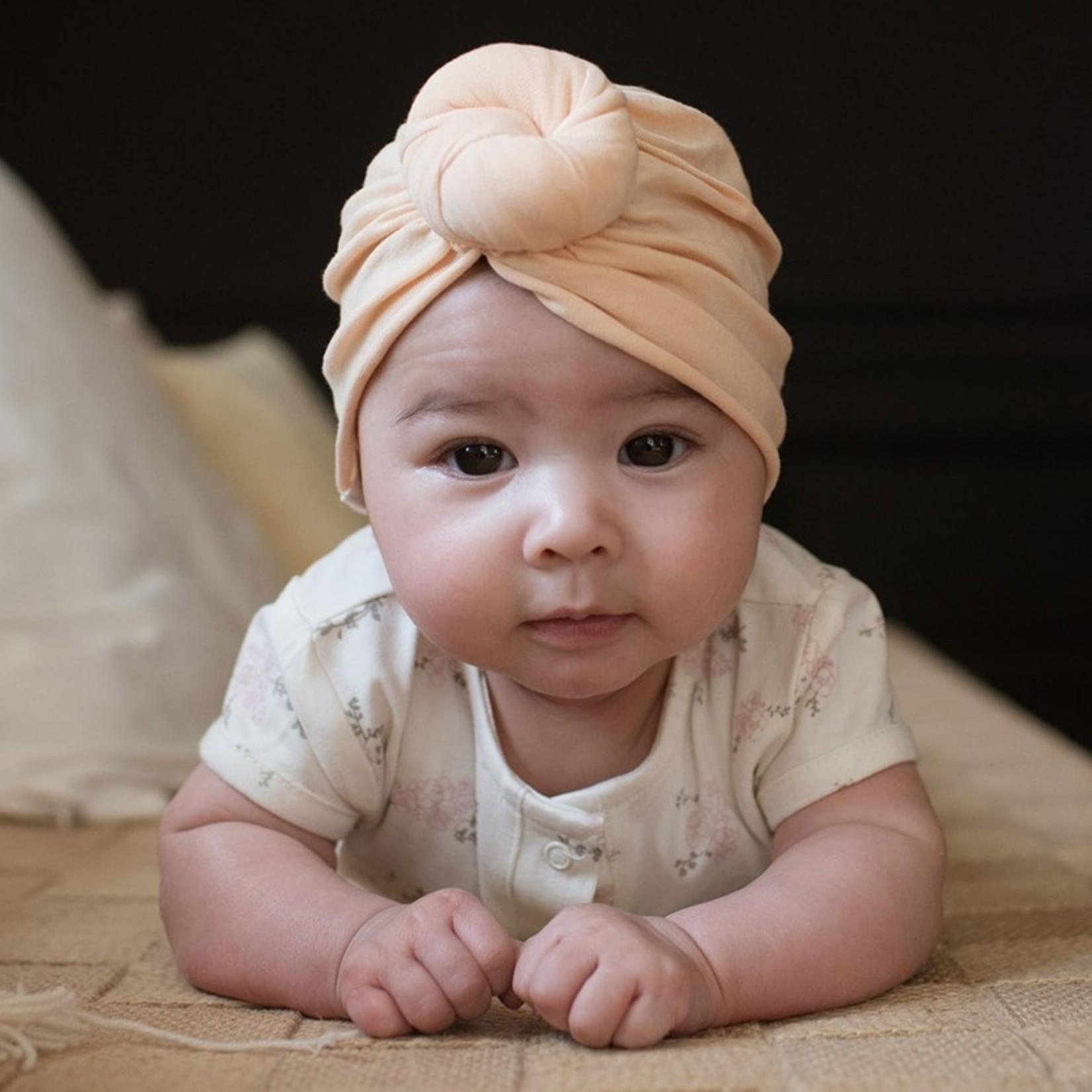Bonjour Little Bonjour Little Turban Beanie Perfect Nude