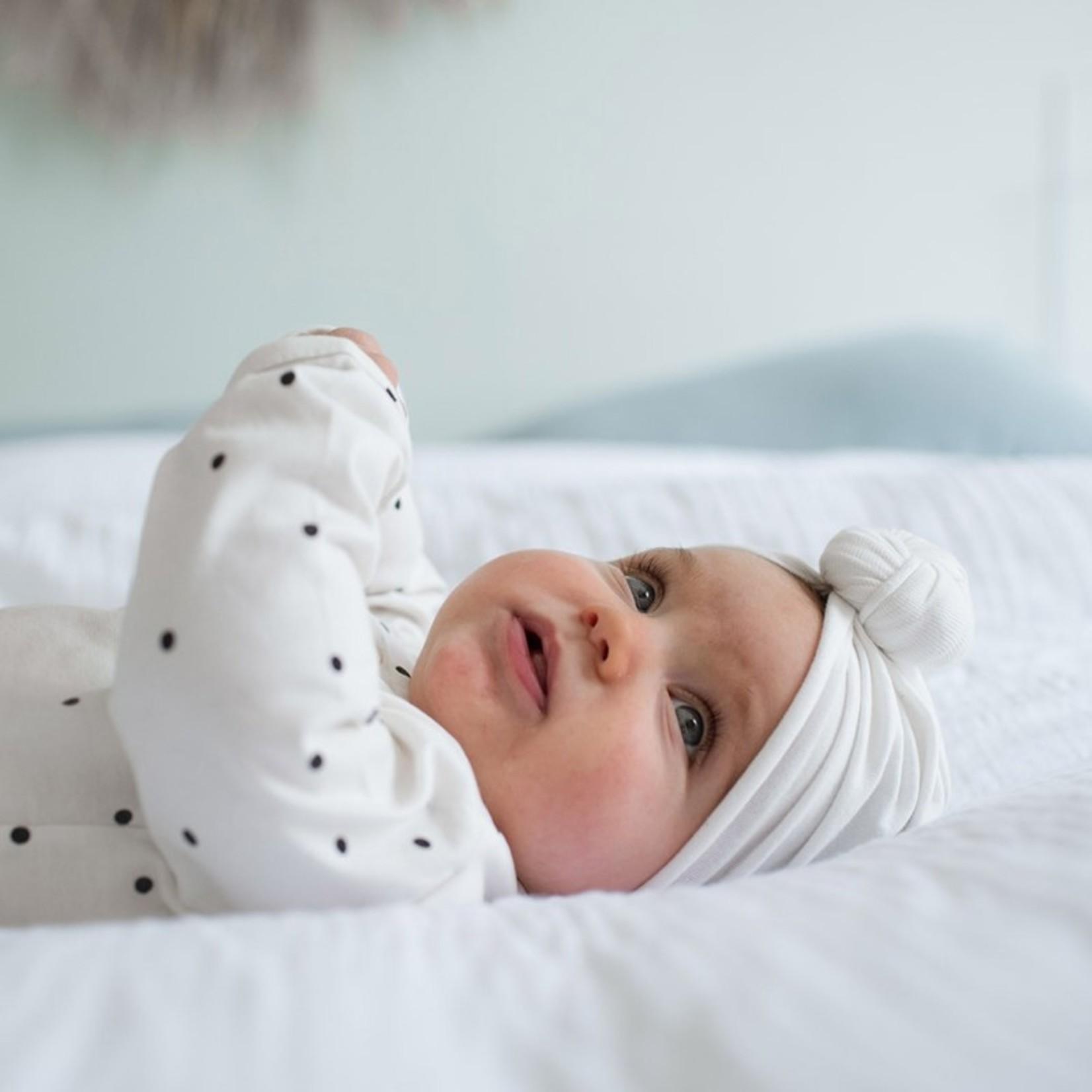 Bonjour Little Bonjour Little Turban Beanie Whipped Cream