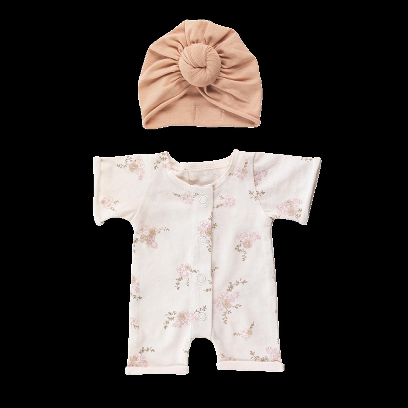 Bonjour Little Bonjour Little Doll outfit Pansies/Nude