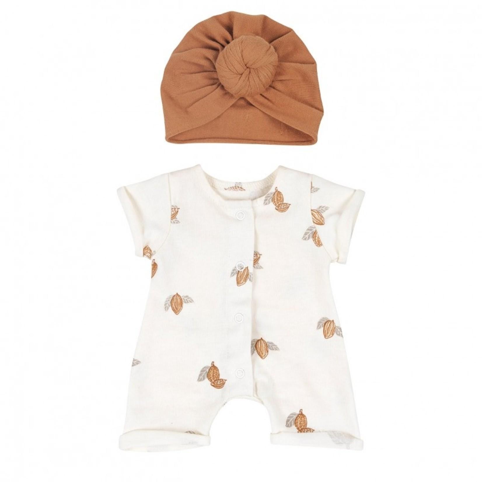 Bonjour Little Bonjour Little Doll outfit Tonka/Nut