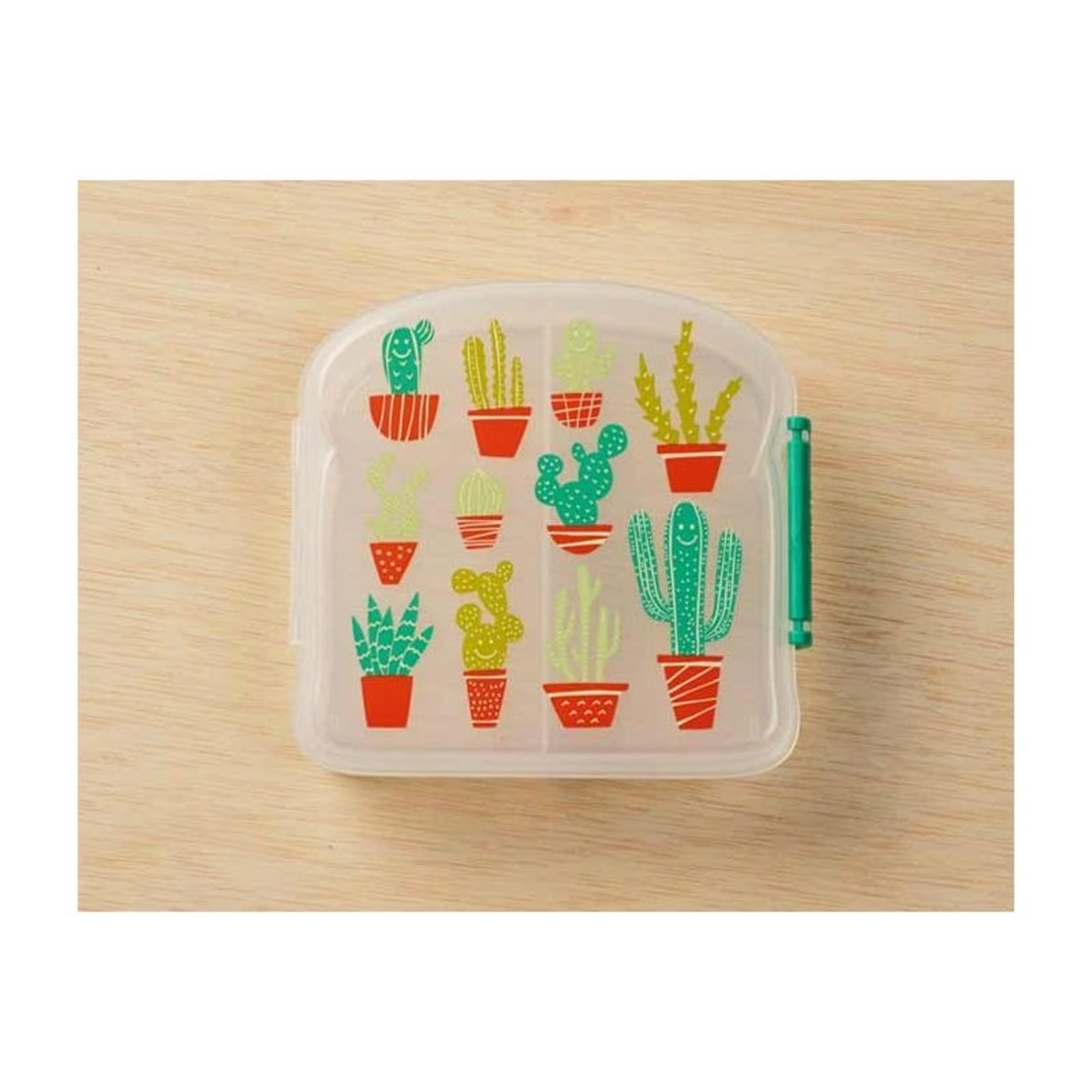 Sugarbooger Sugarbooger Good Lunch sandwich box Happy Cactus