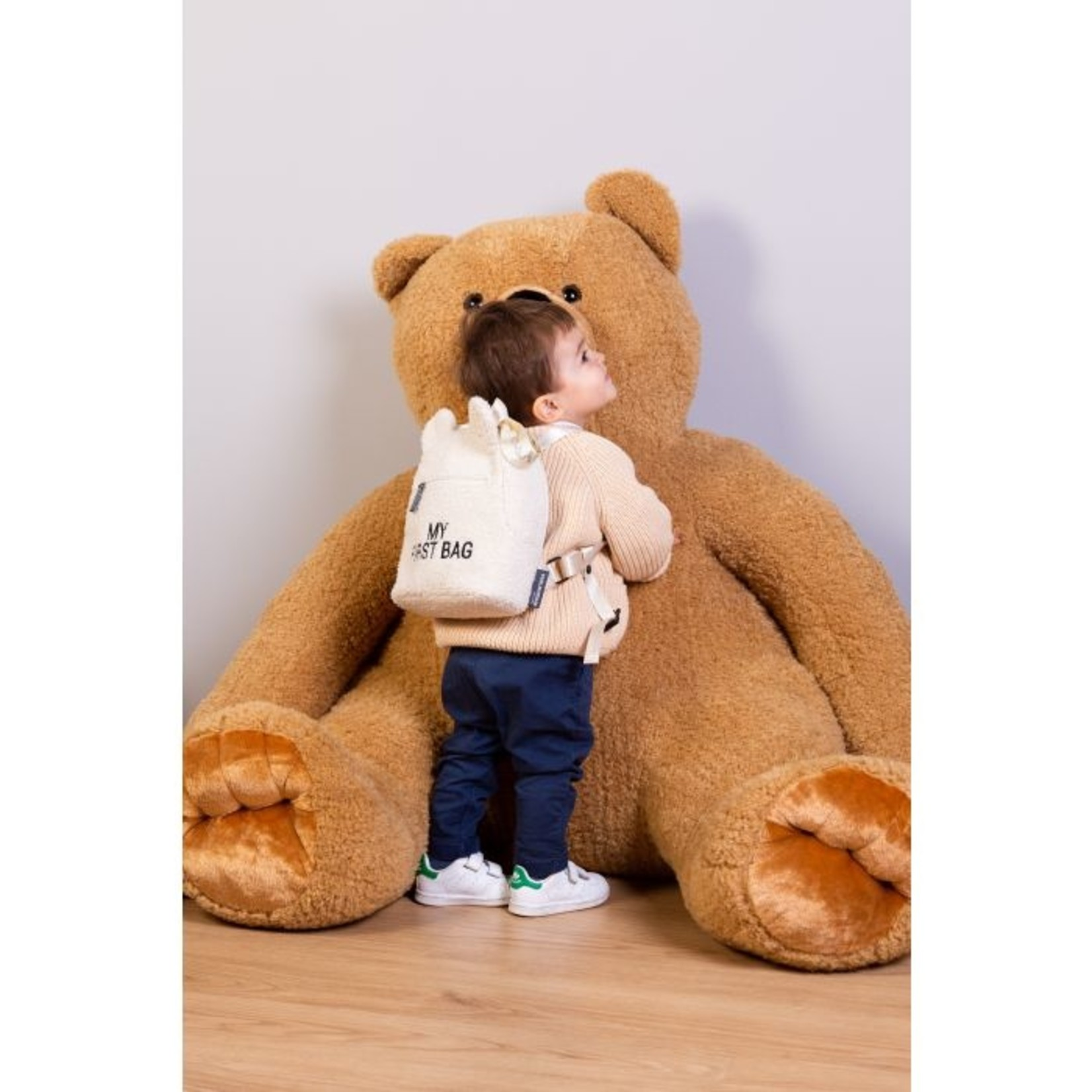 Childhome Childhome My First Bag Teddy Beige
