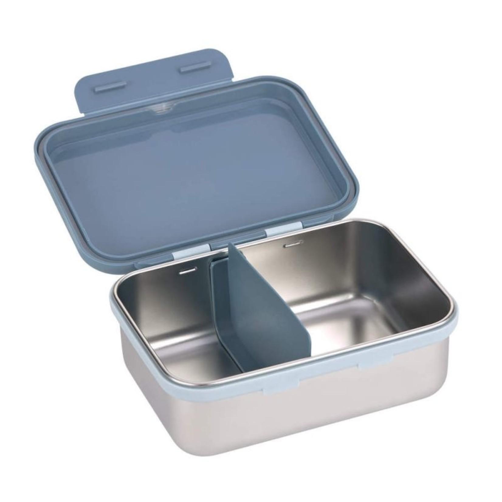 Lässig Lässig Handige Lunchbox in RVS Tractor