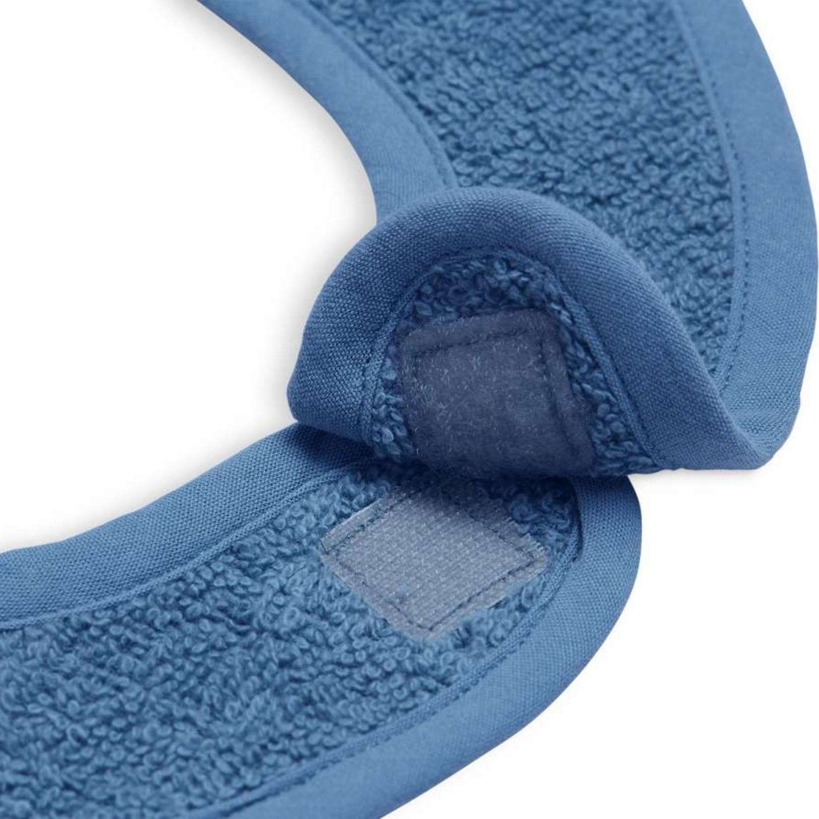 Jollein Jollein Slabber Badstof Jeans blue
