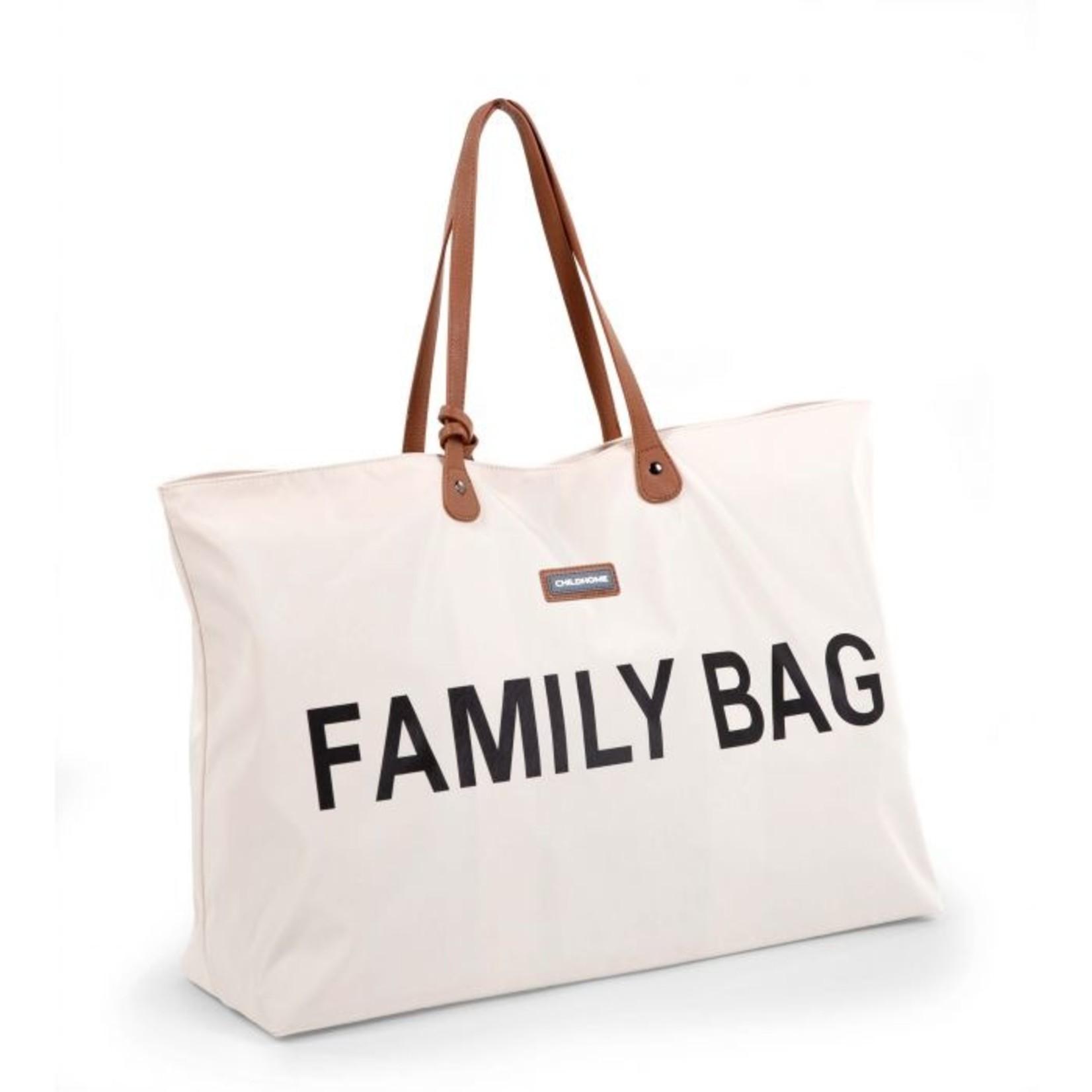 Childhome Childhome Family bag Ecru/Zwart