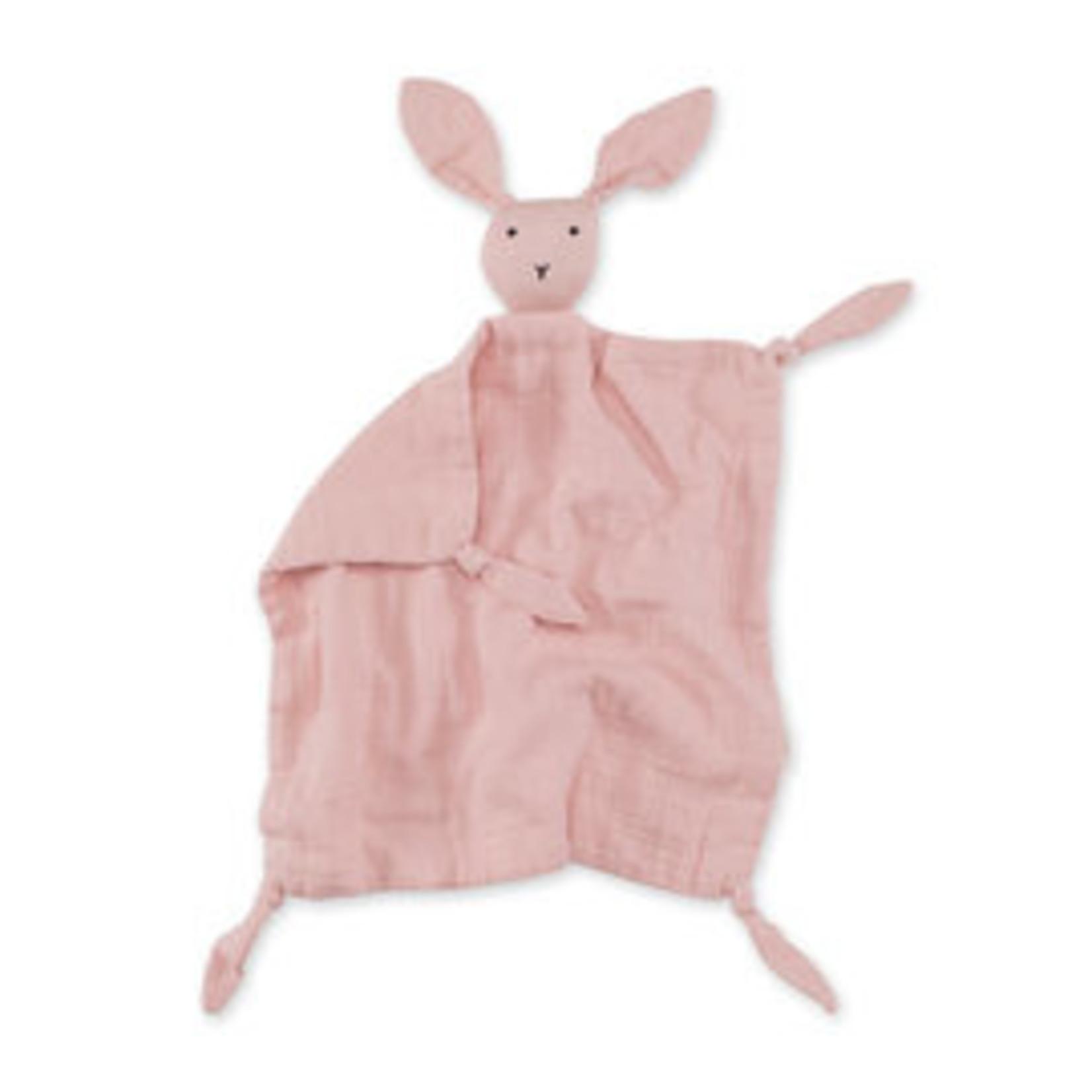 Bemini Bemini Knuffeldoek Bunny Puppet Blush