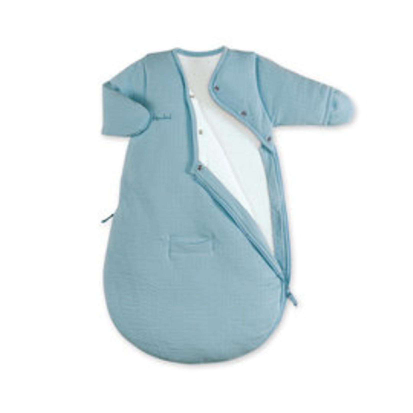 Bemini Bemini Slaapzak Magic bag Mineraal blauw  0-3 maand Pady Tetra Jersey TOG 3. 141CADUM65CU
