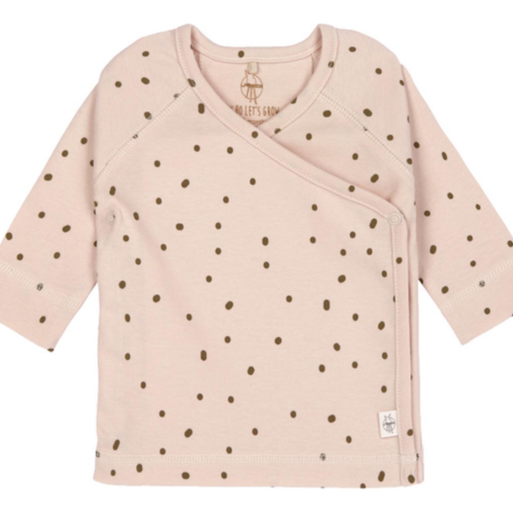 Lässig Lässig Kimono Shirt Gots Dots powder Pink