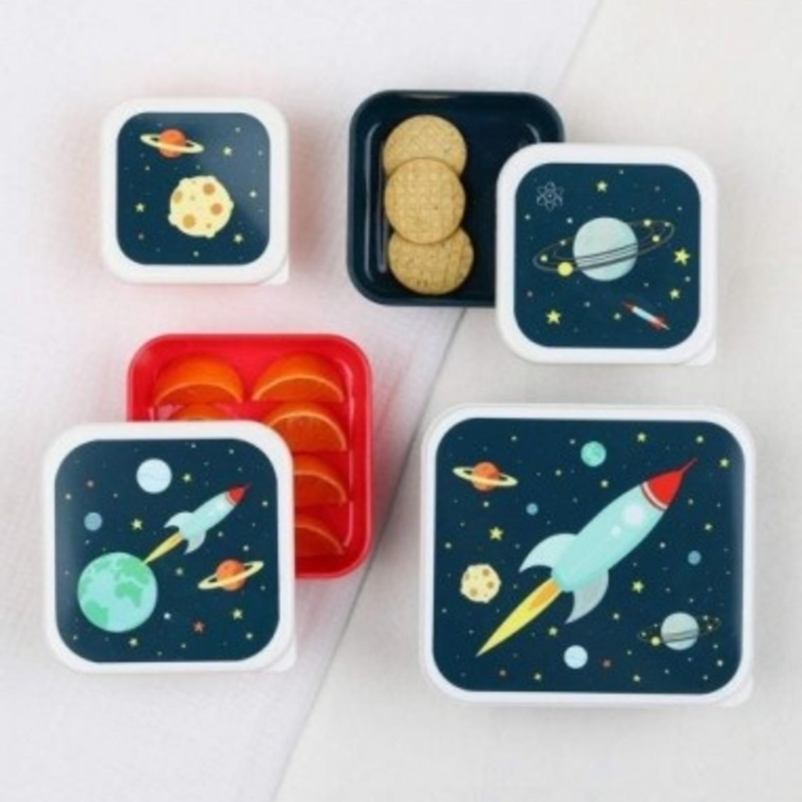 A Lovely Little Company A Lovely Little Company Lunch & snack Box set Ruimte