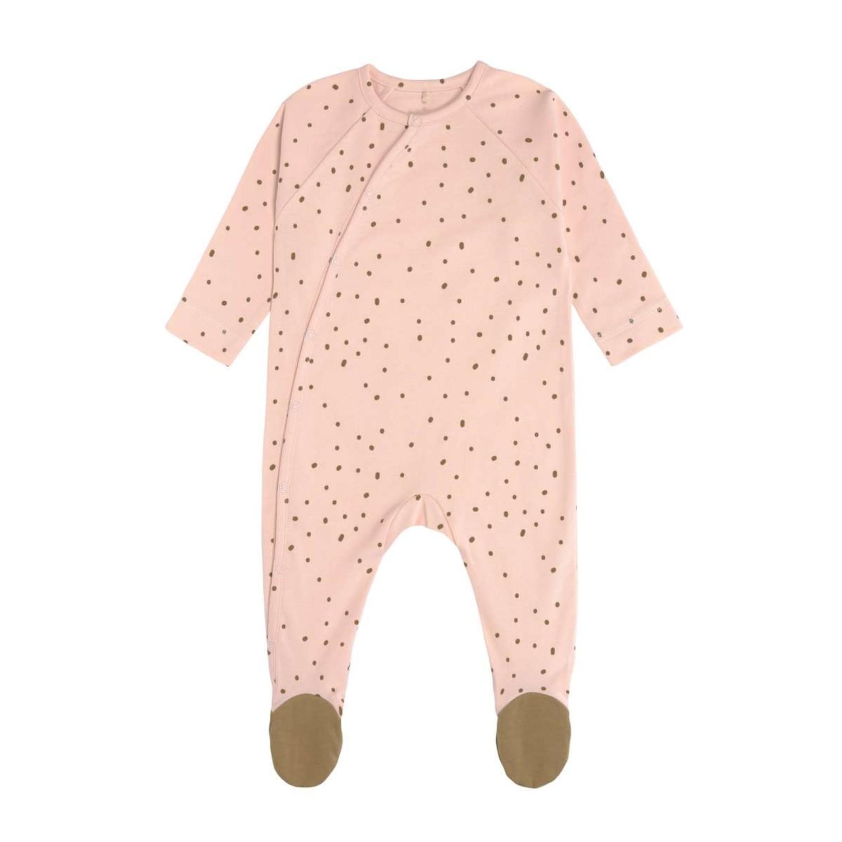 Lässig Lässig Pyjama met voetjes Gots Powder Pink