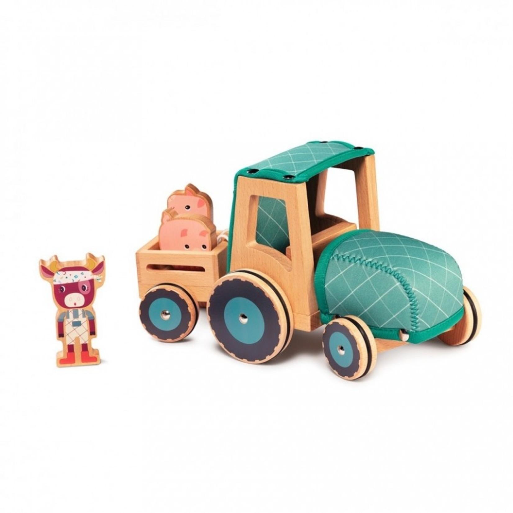 Lilliputiens Lilliputiens Tractor Rosalie