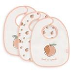 Jollein Jollein 3-pack Slabbers Peach Pink